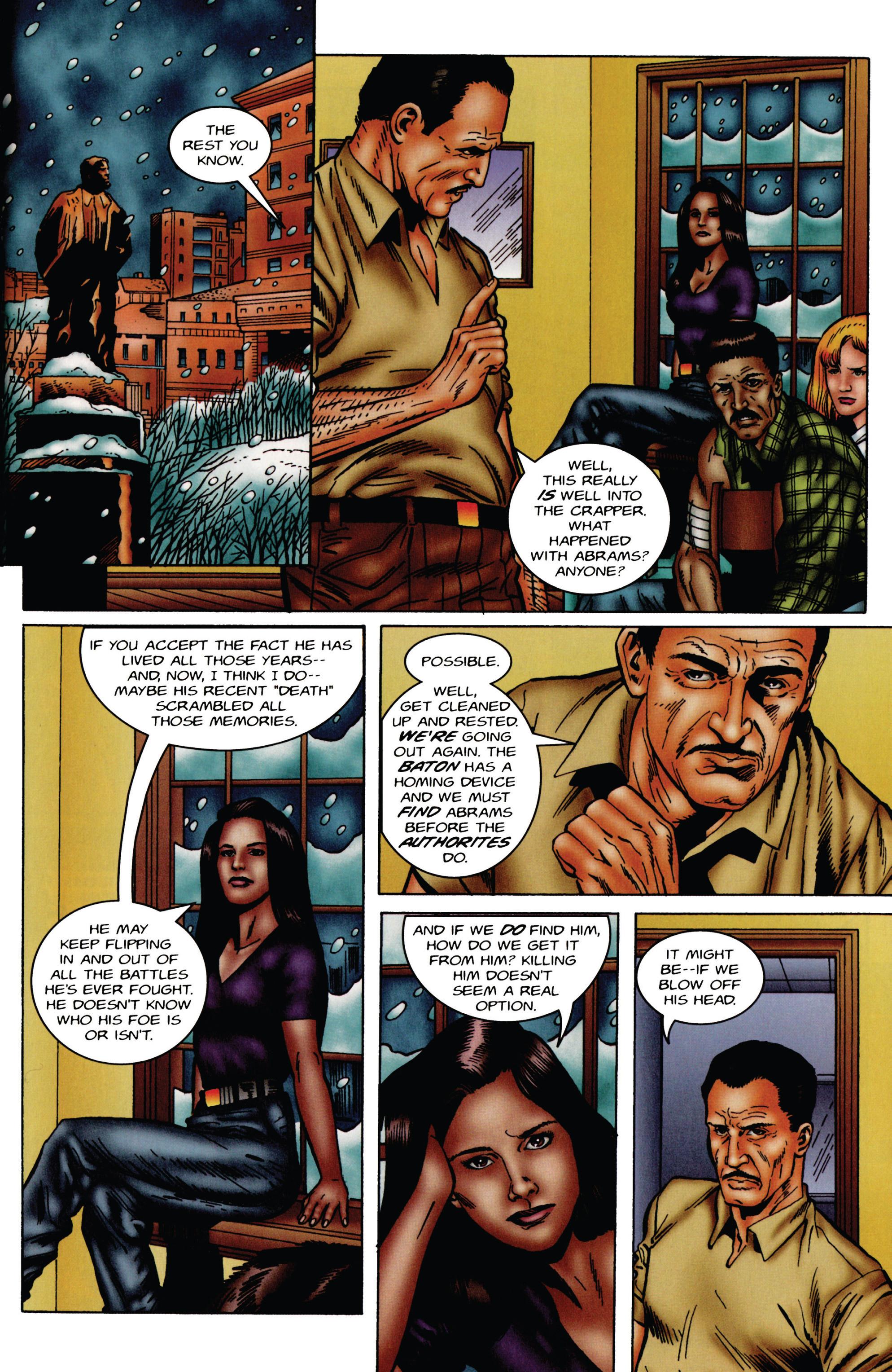 Read online Eternal Warrior (1992) comic -  Issue #49 - 19
