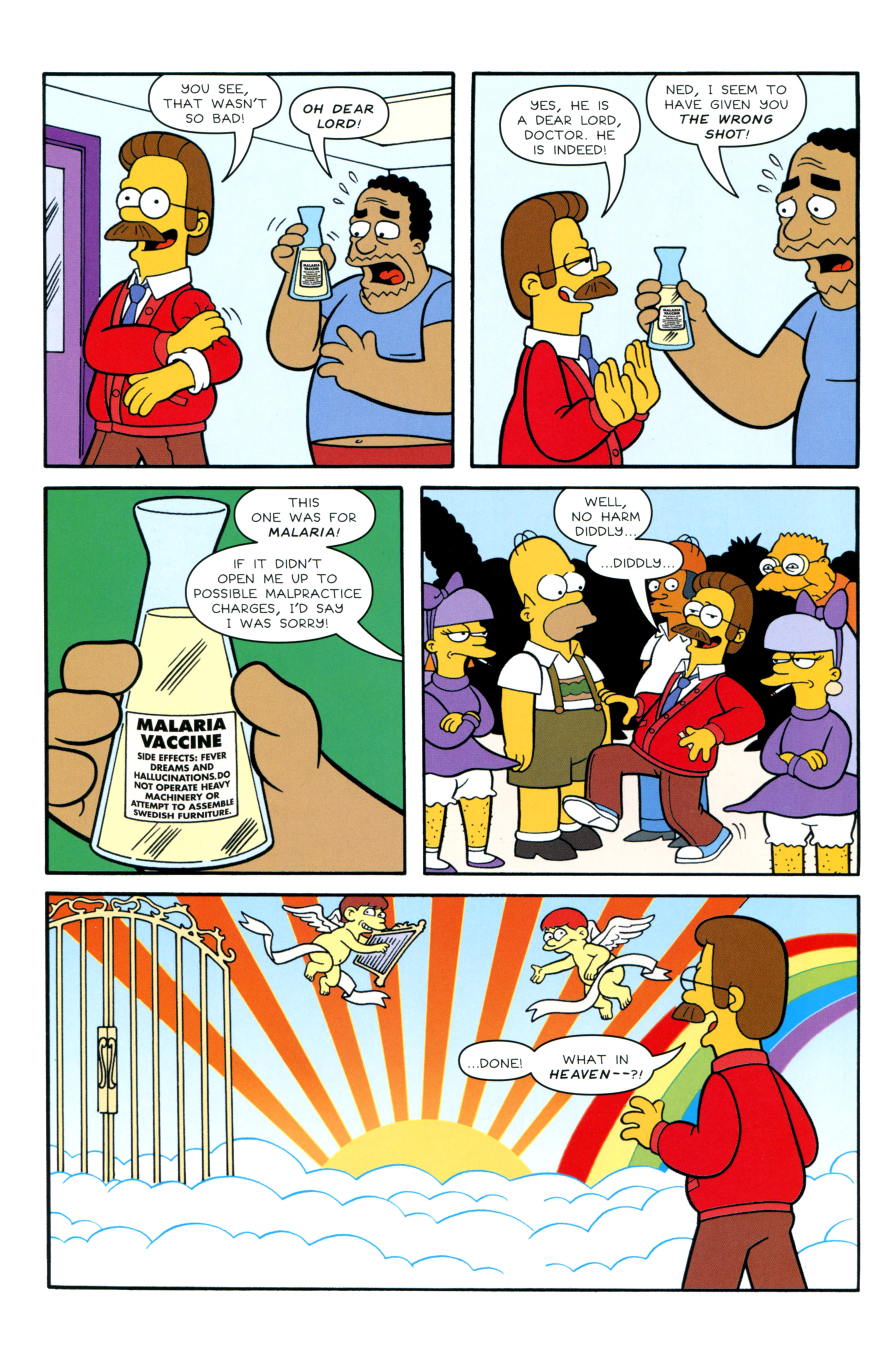 Read online Simpsons Illustrated (2012) comic -  Issue #12 - 6