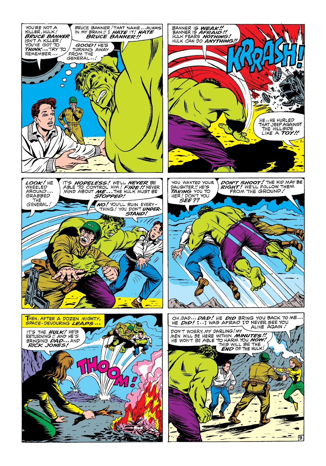 Read online Marvel Masterworks: The Incredible Hulk comic -  Issue # TPB 3 (Part 1) - 49