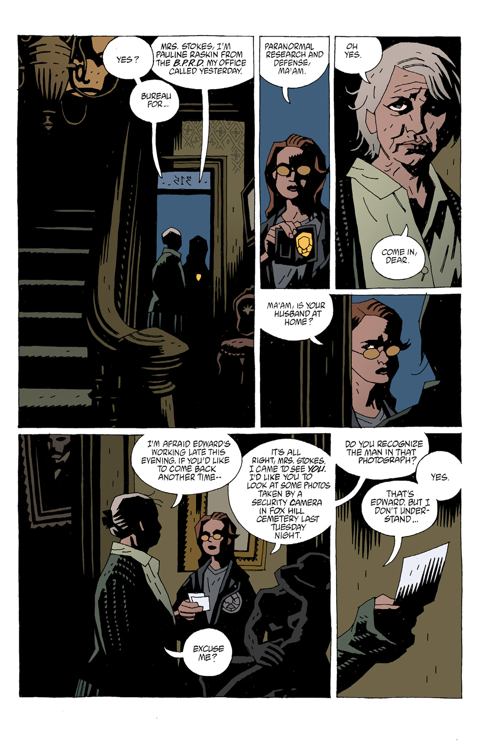 Read online Hellboy: The Troll Witch and Others comic -  Issue # TPB - 71