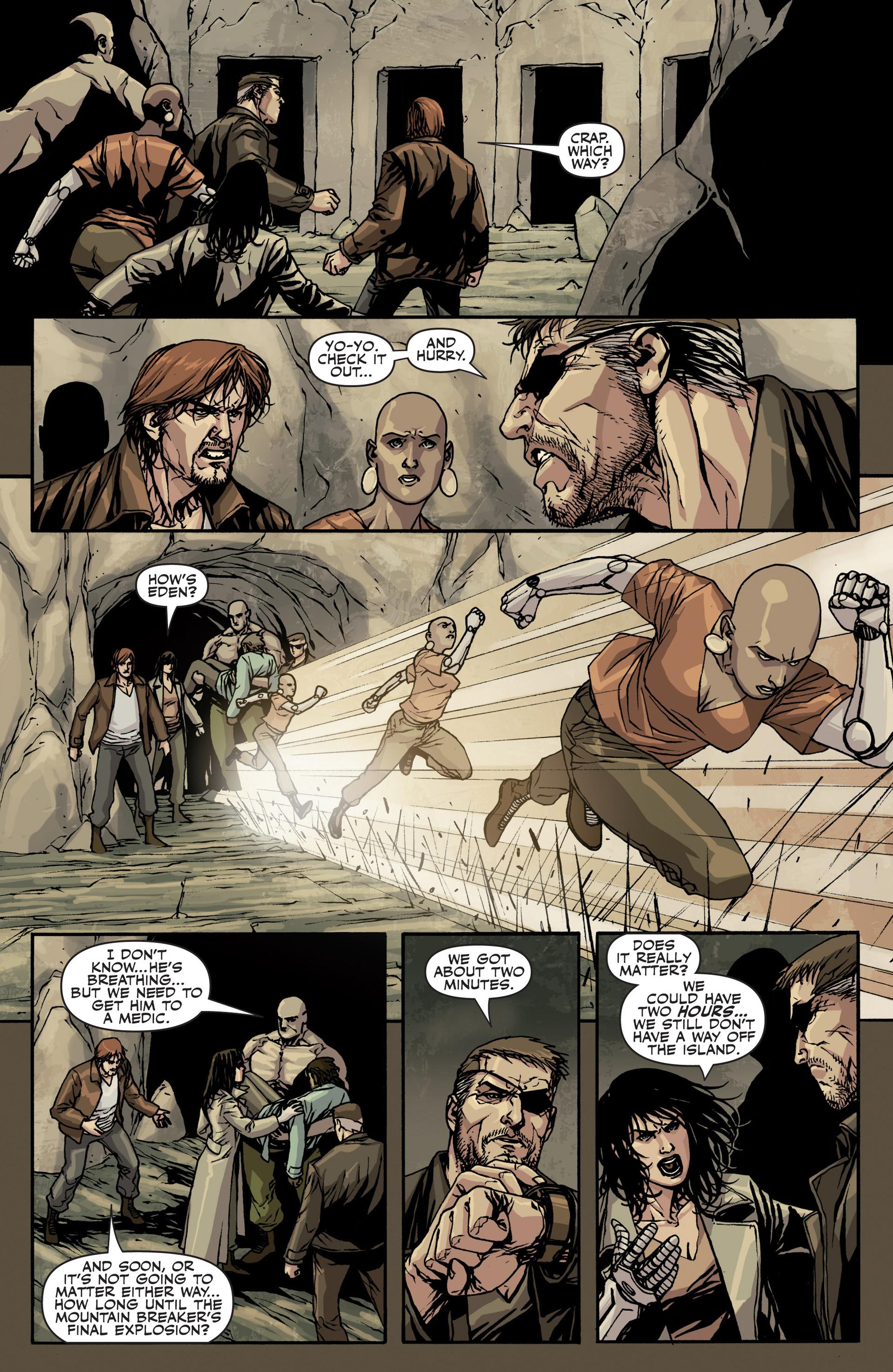 Read online Secret Warriors comic -  Issue #22 - 8
