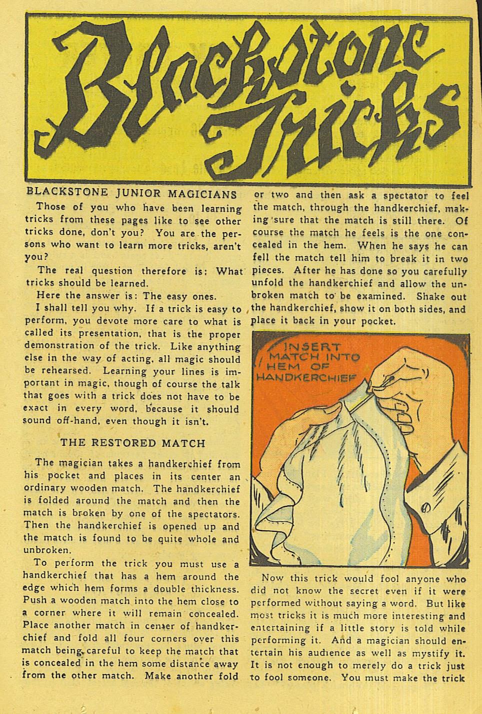 Read online Super-Magician Comics comic -  Issue #42 - 22
