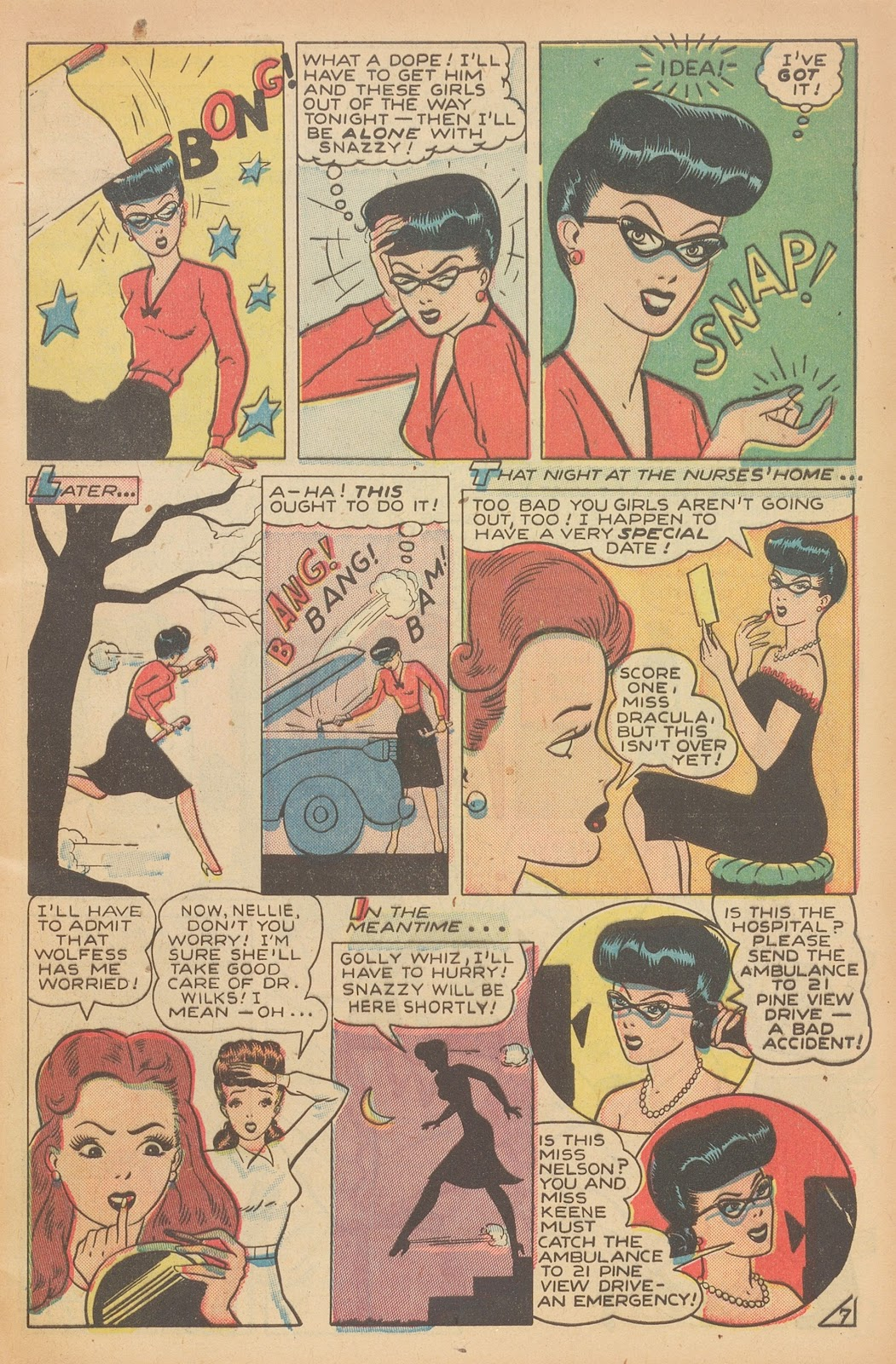 Read online Nellie The Nurse (1945) comic -  Issue #15 - 9