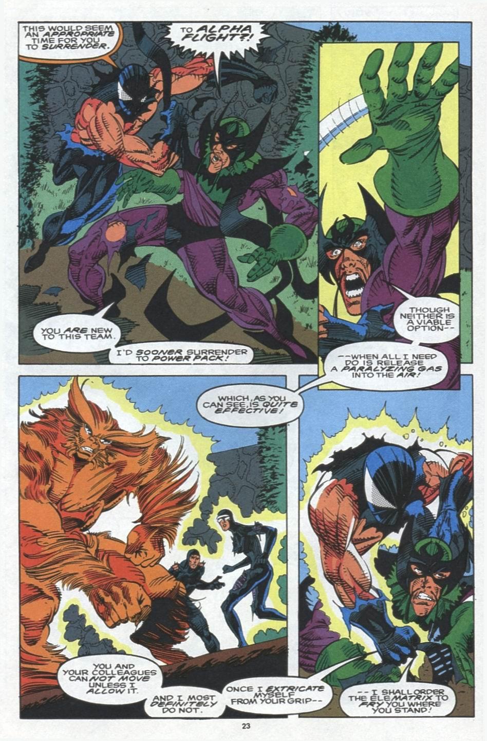 Read online Alpha Flight (1983) comic -  Issue #103 - 18