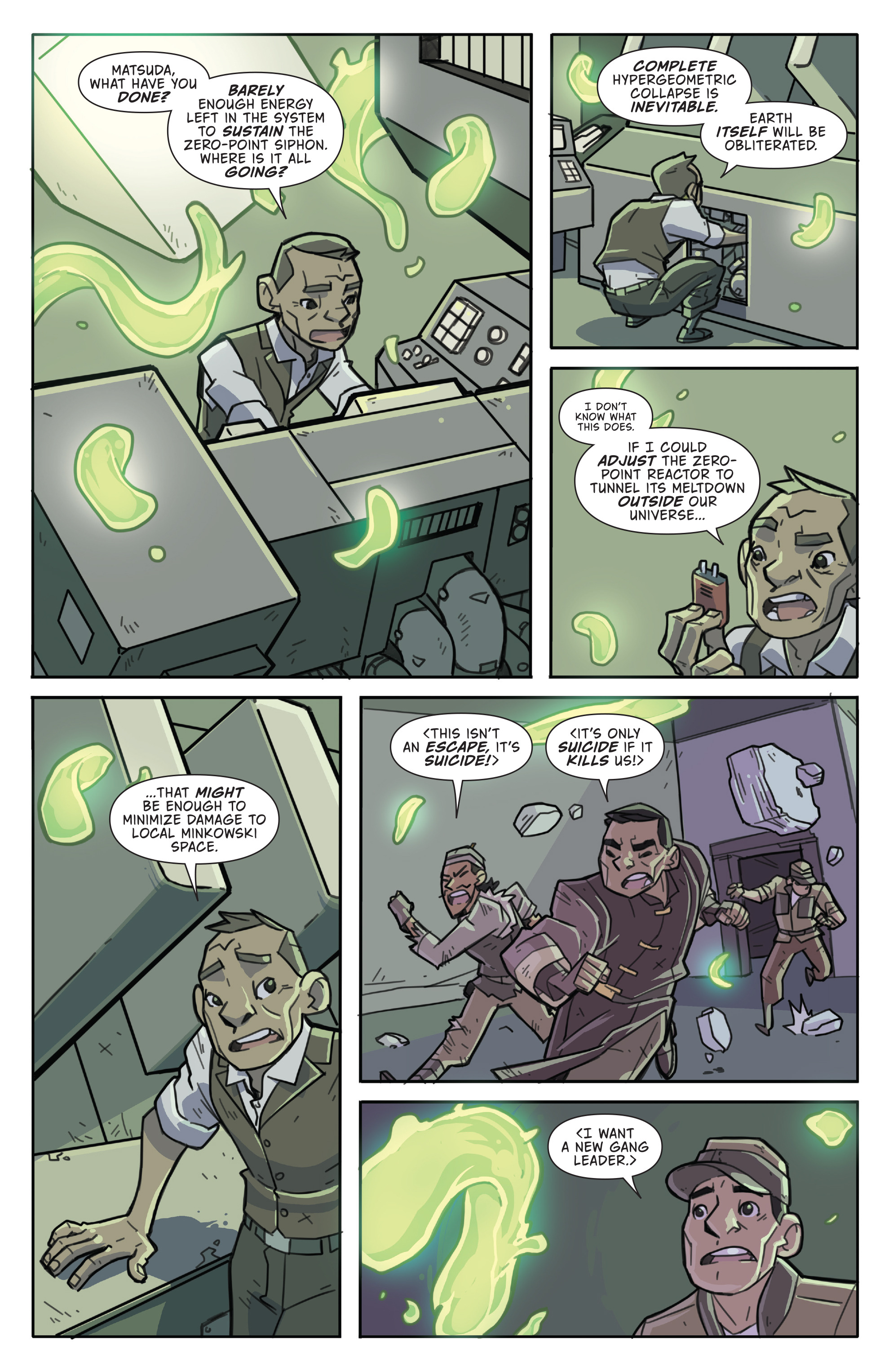 Read online Atomic Robo and the Temple of Od comic -  Issue #5 - 9