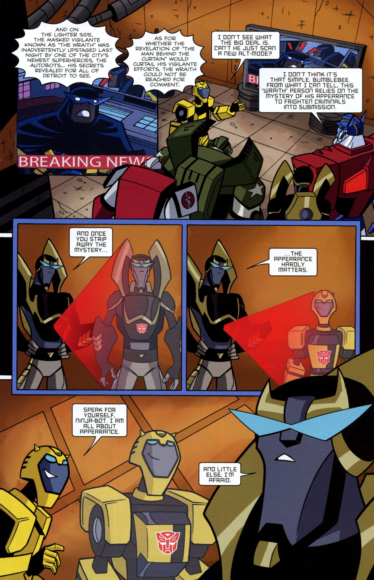 Read online Transformers Animated: The Arrival comic -  Issue #2 - 8