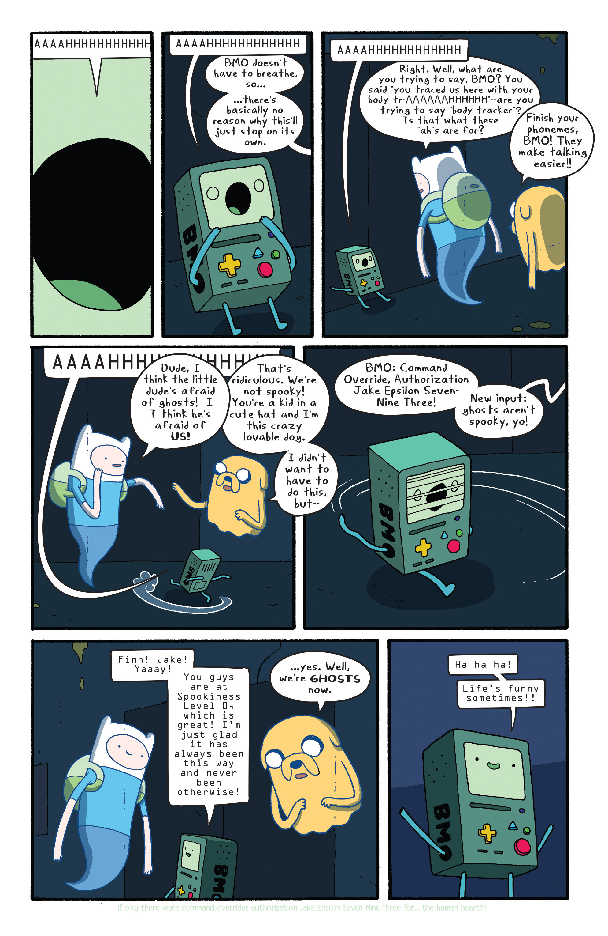 Read online Adventure Time comic -  Issue #27 - 5