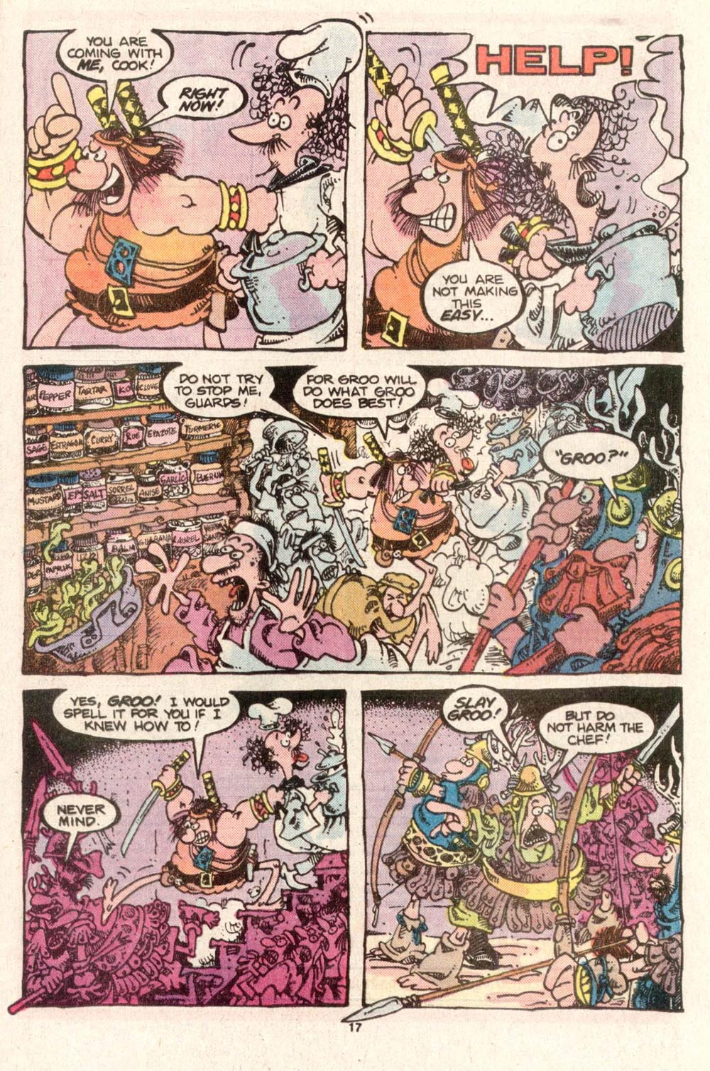 Read online Sergio Aragonés Groo the Wanderer comic -  Issue #28 - 15