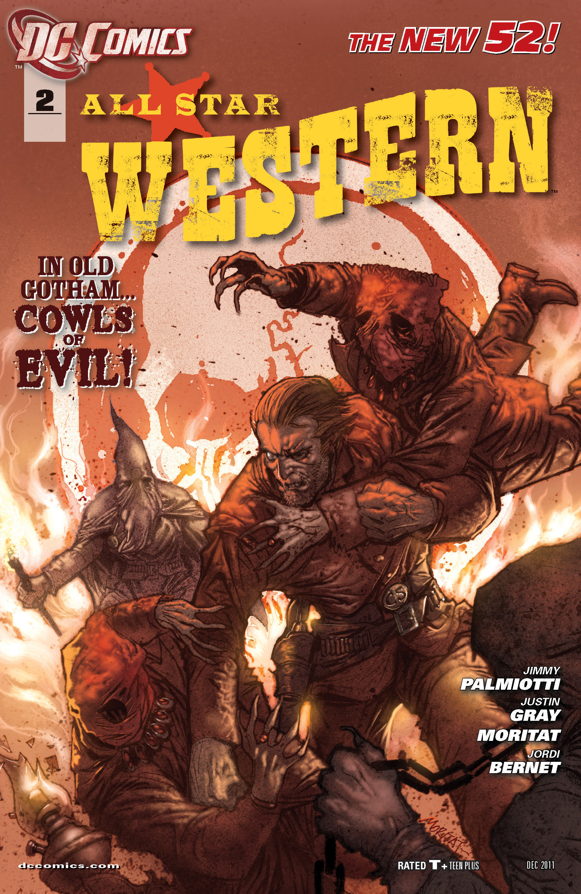 Read online All-Star Western (2011) comic -  Issue #2 - 1