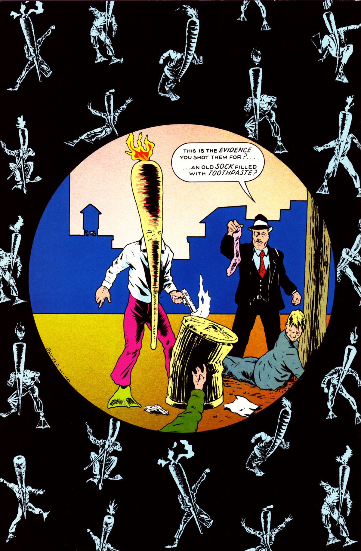 Read online Flaming Carrot Comics (1984) comic -  Issue #4 - 36