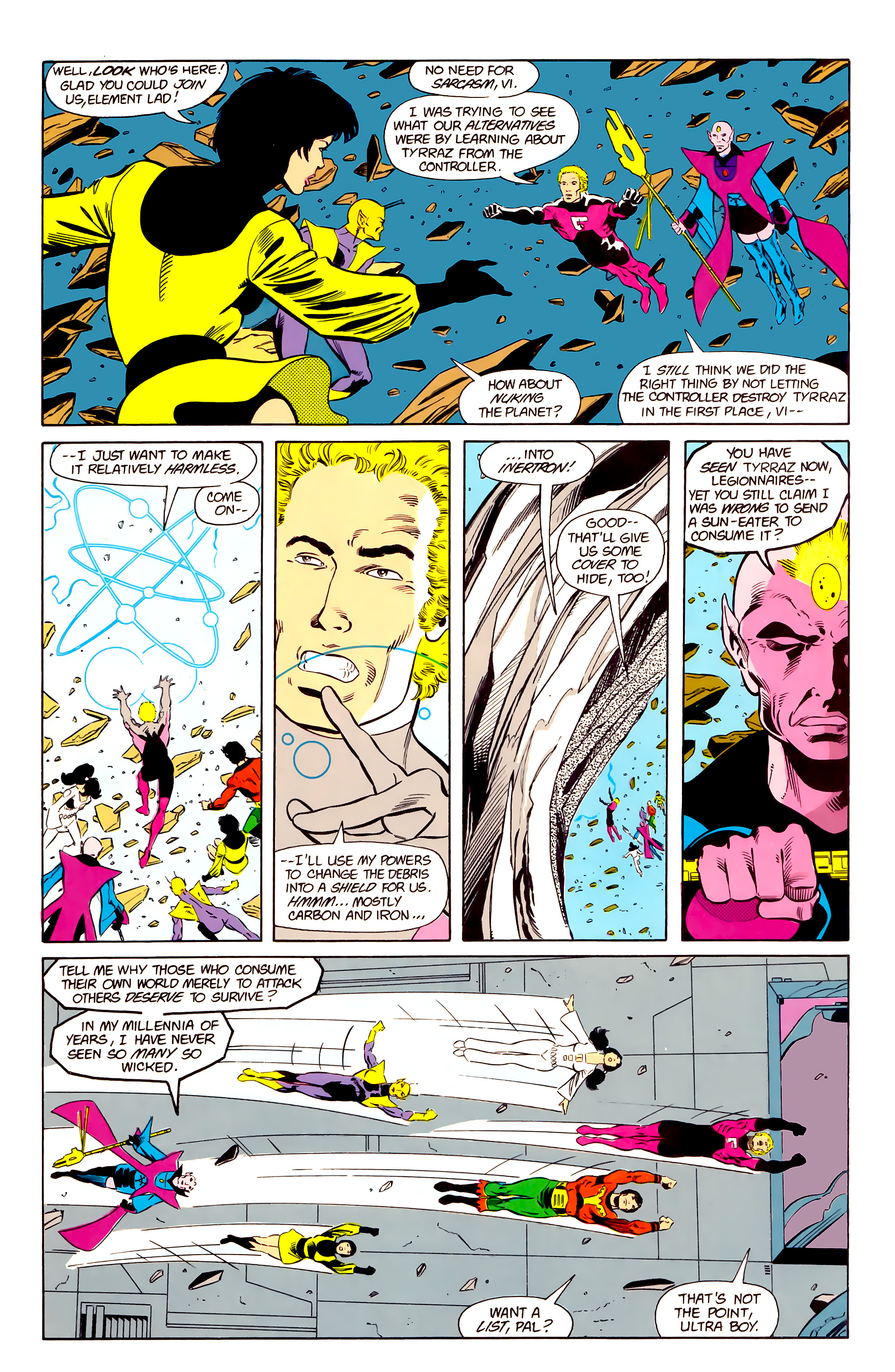 Legion of Super-Heroes (1984) 20 Page 4