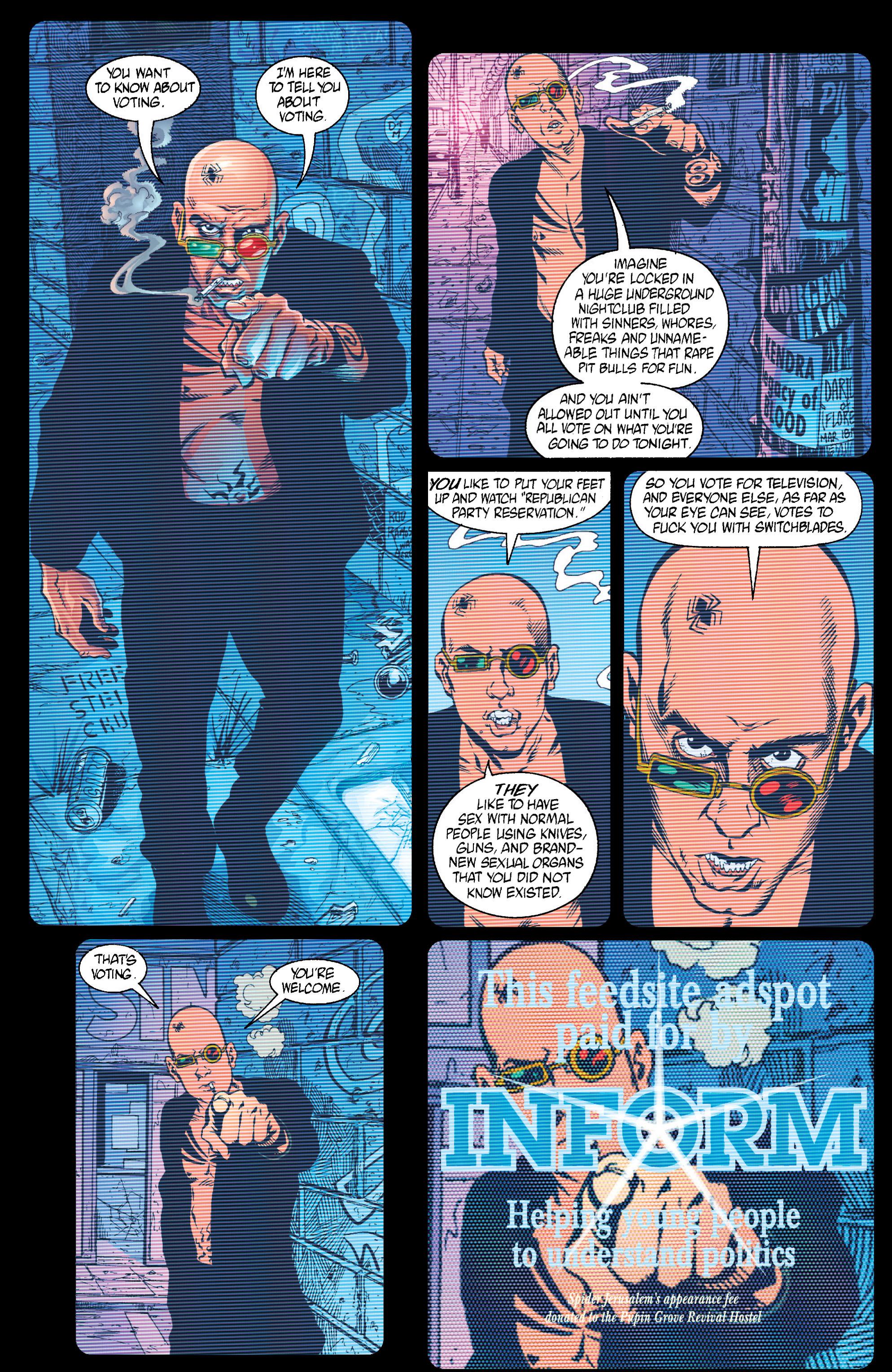Read online Transmetropolitan comic -  Issue #15 - 6