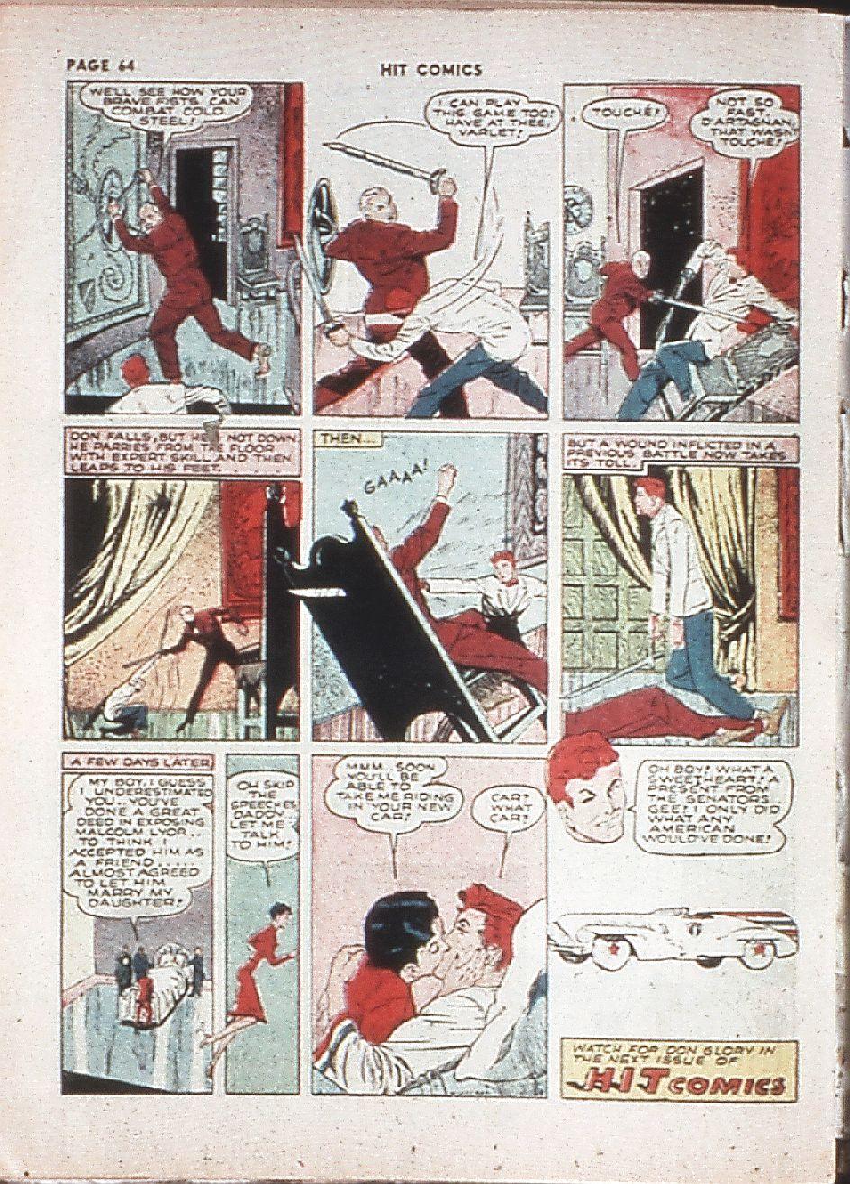 Read online Hit Comics comic -  Issue #10 - 66