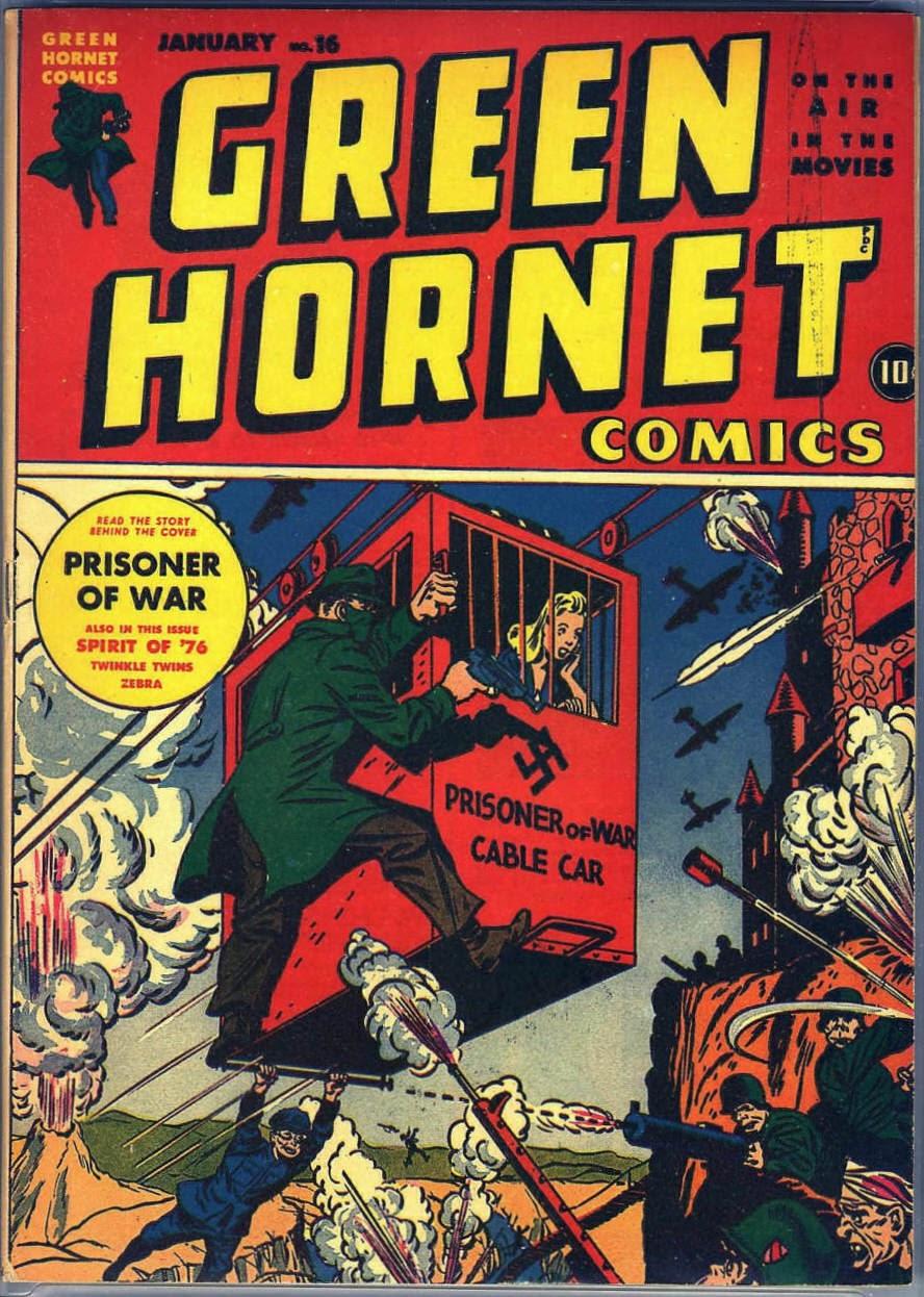Green Hornet Comics 16 Page 1