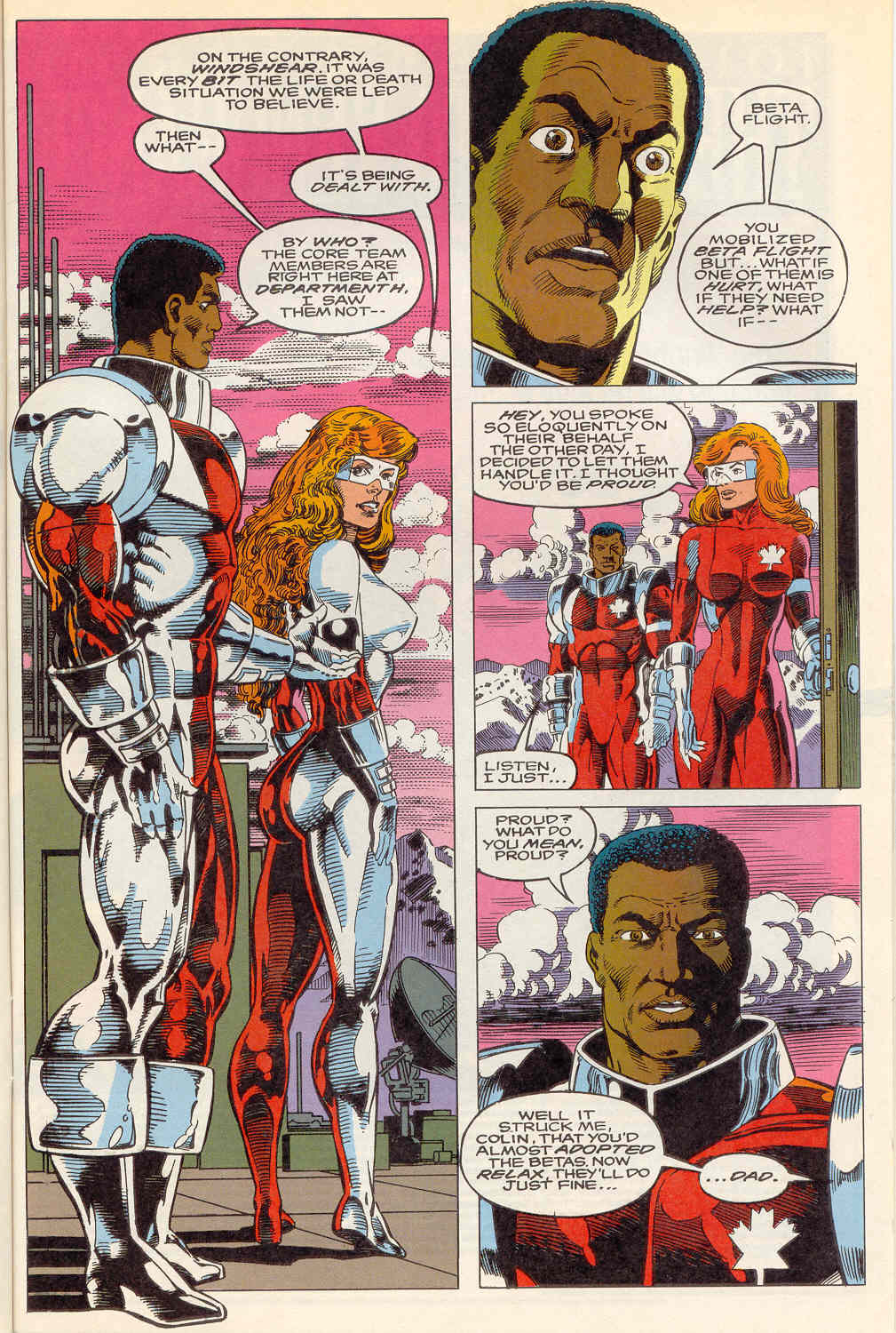 Read online Alpha Flight (1983) comic -  Issue #114 - 7
