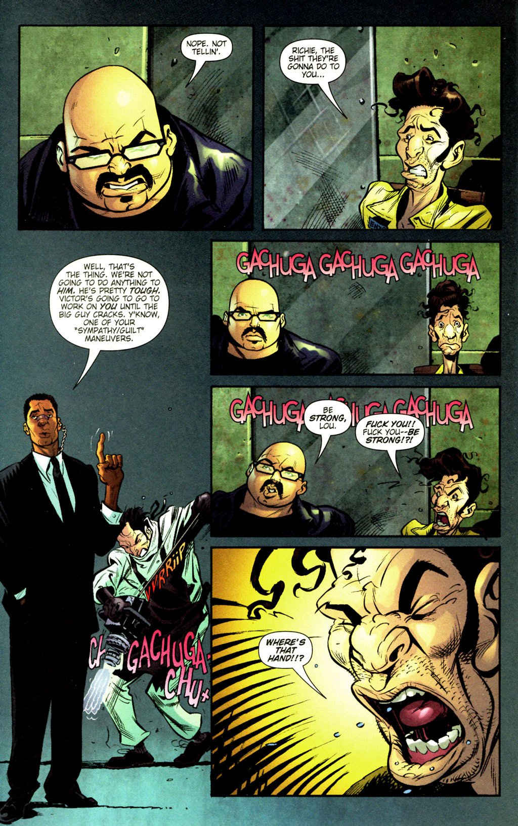 Read online Caper comic -  Issue #12 - 7