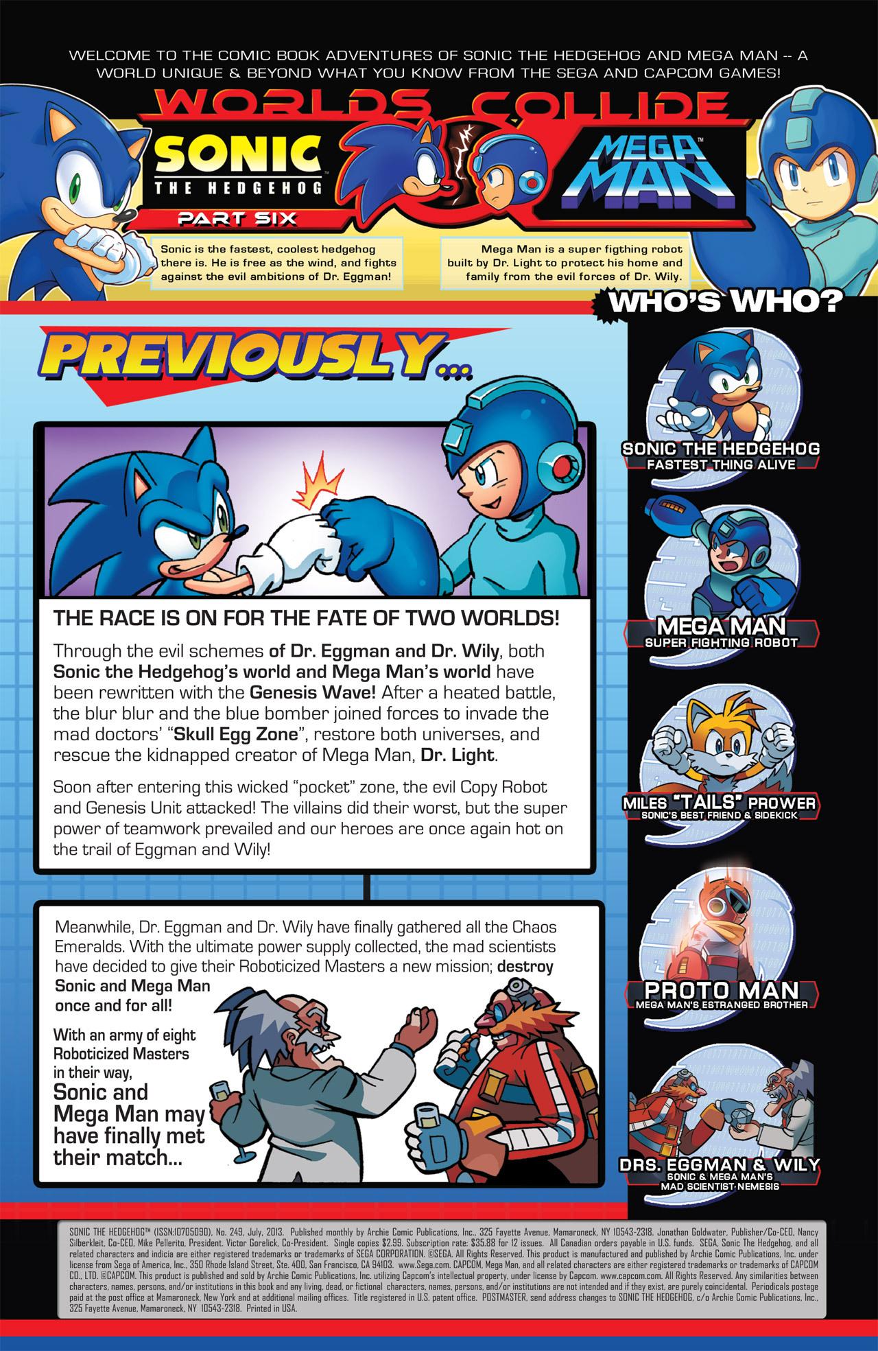Read online Sonic Mega Man Worlds Collide comic -  Issue # Vol 2 - 34
