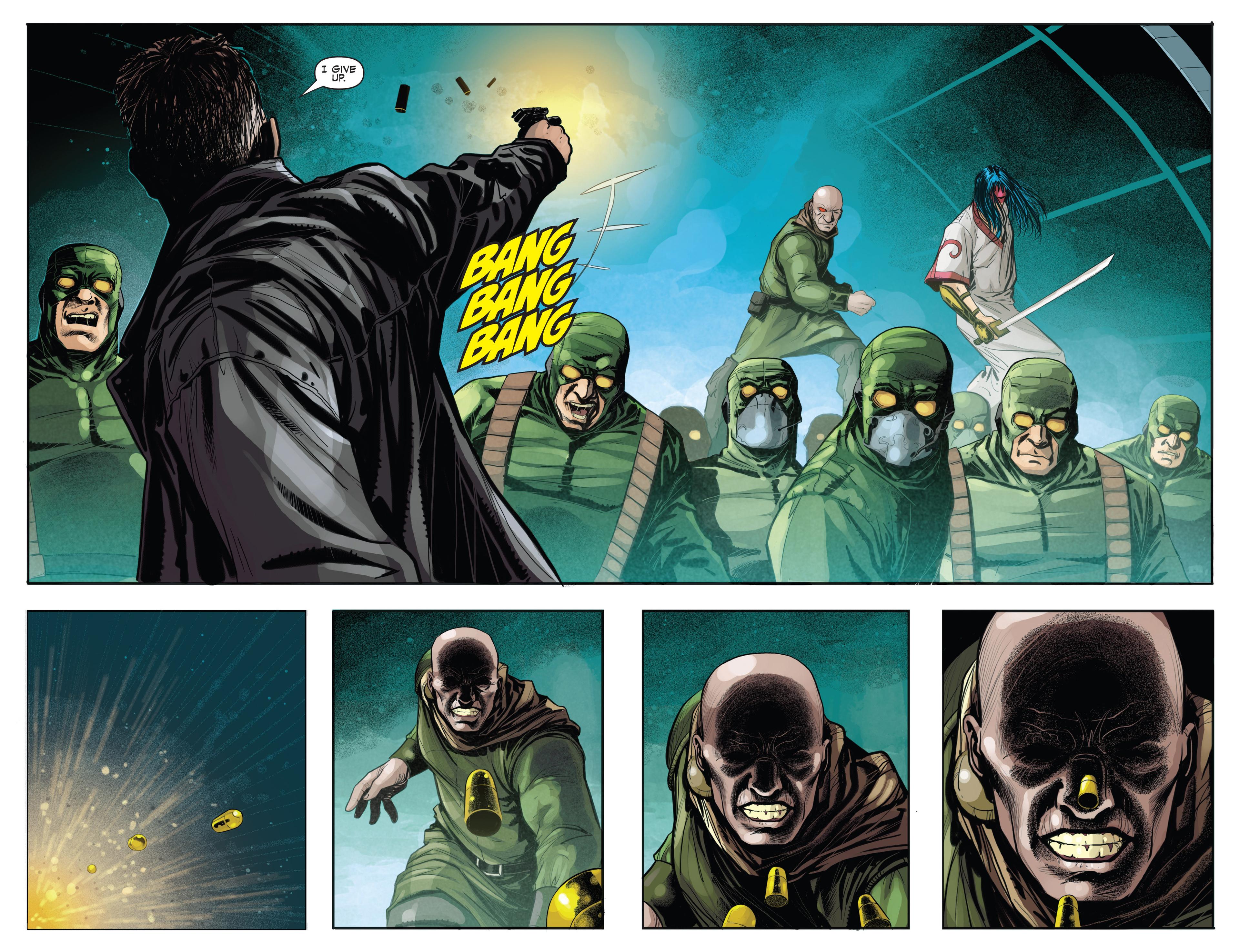 Read online Secret Warriors comic -  Issue #21 - 5