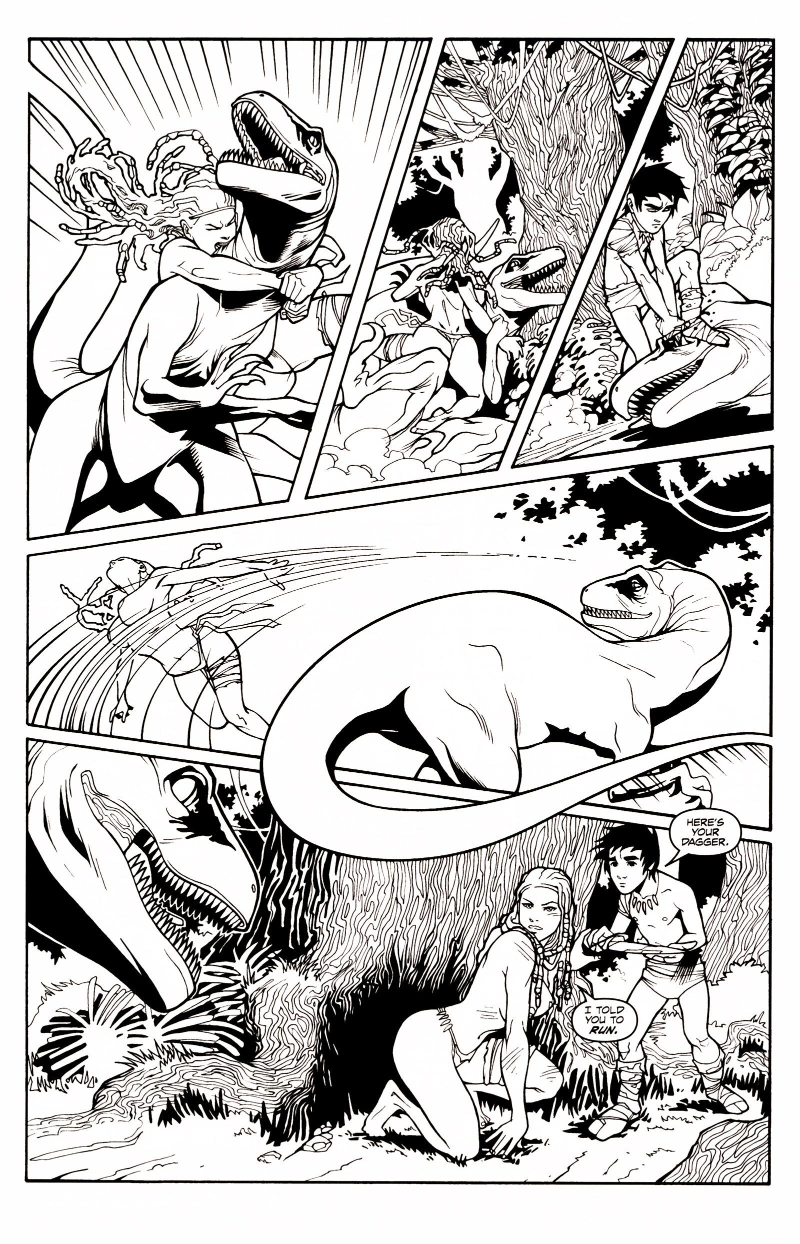Read online Jungle Fantasy (2002) comic -  Issue # _Annual 1 - 9