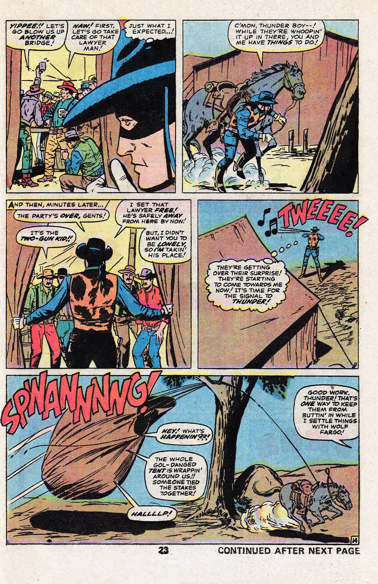 Read online Two-Gun Kid comic -  Issue #134 - 25
