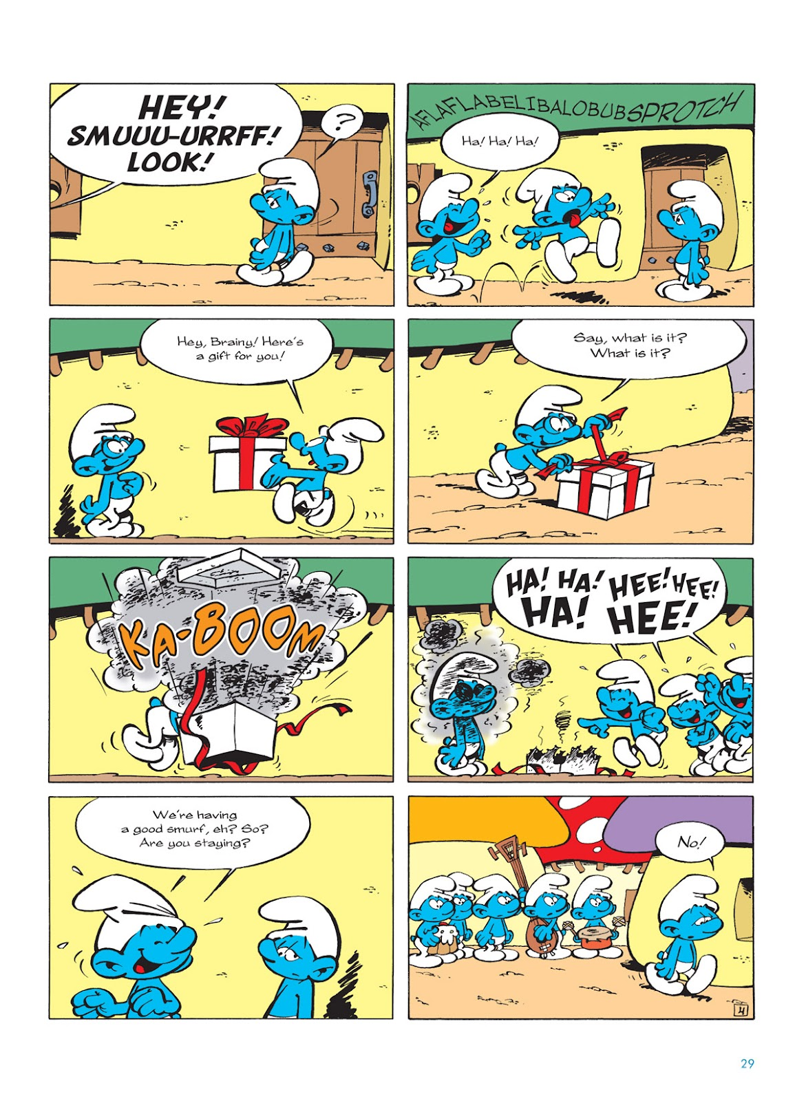 Read online The Smurfs comic -  Issue #9 - 29