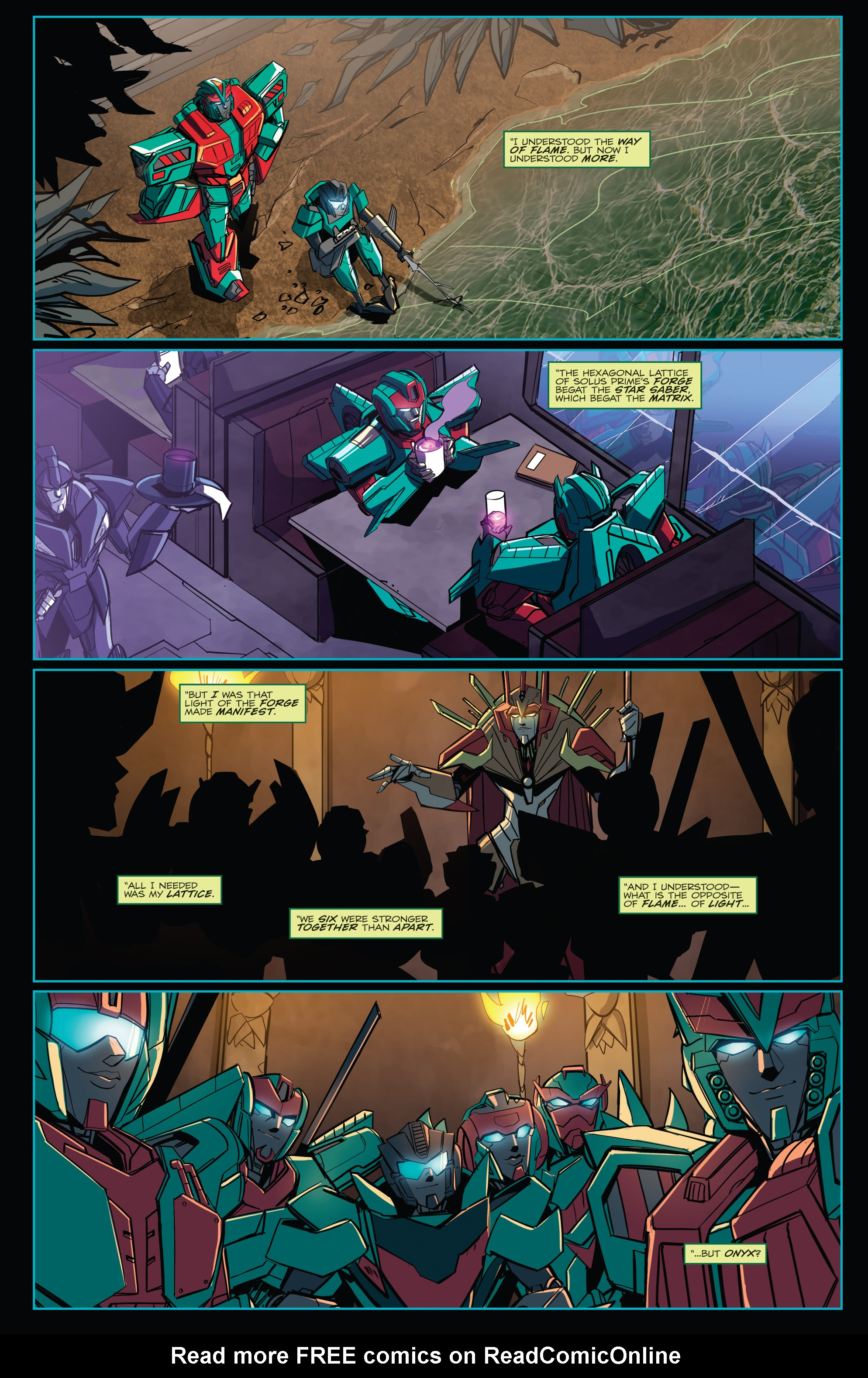 Read online Transformers Annual comic -  Issue # Full - 37