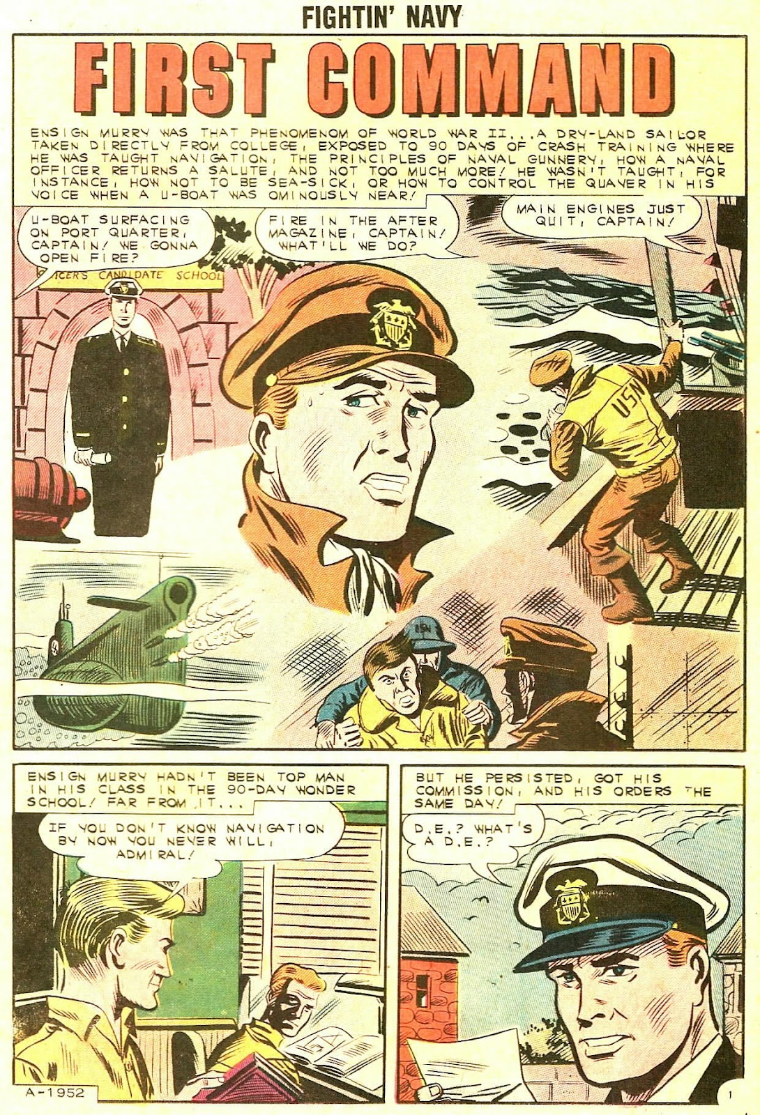 Read online Fightin' Navy comic -  Issue #106 - 11