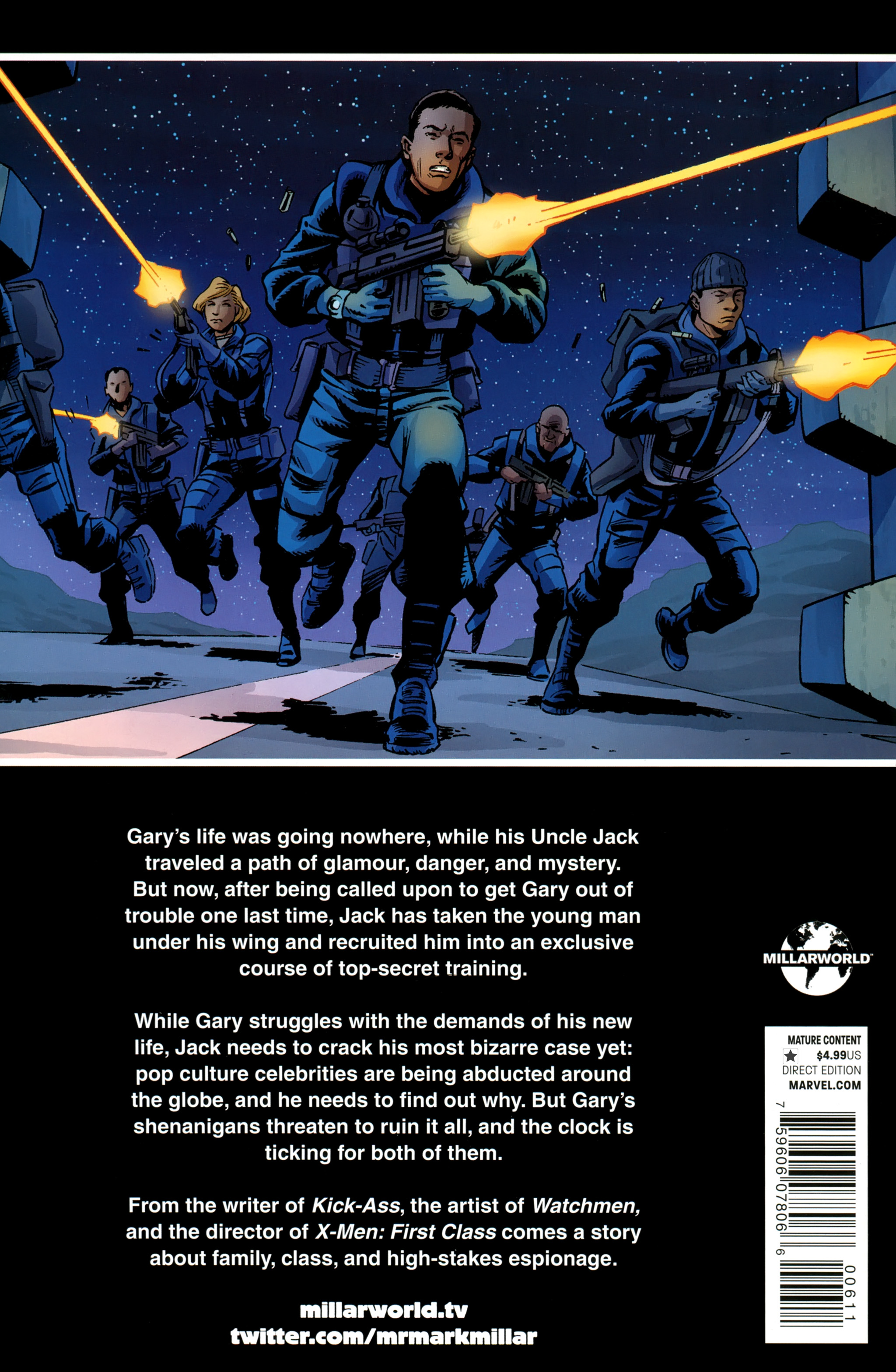 Read online Secret Service comic -  Issue #6 - 36
