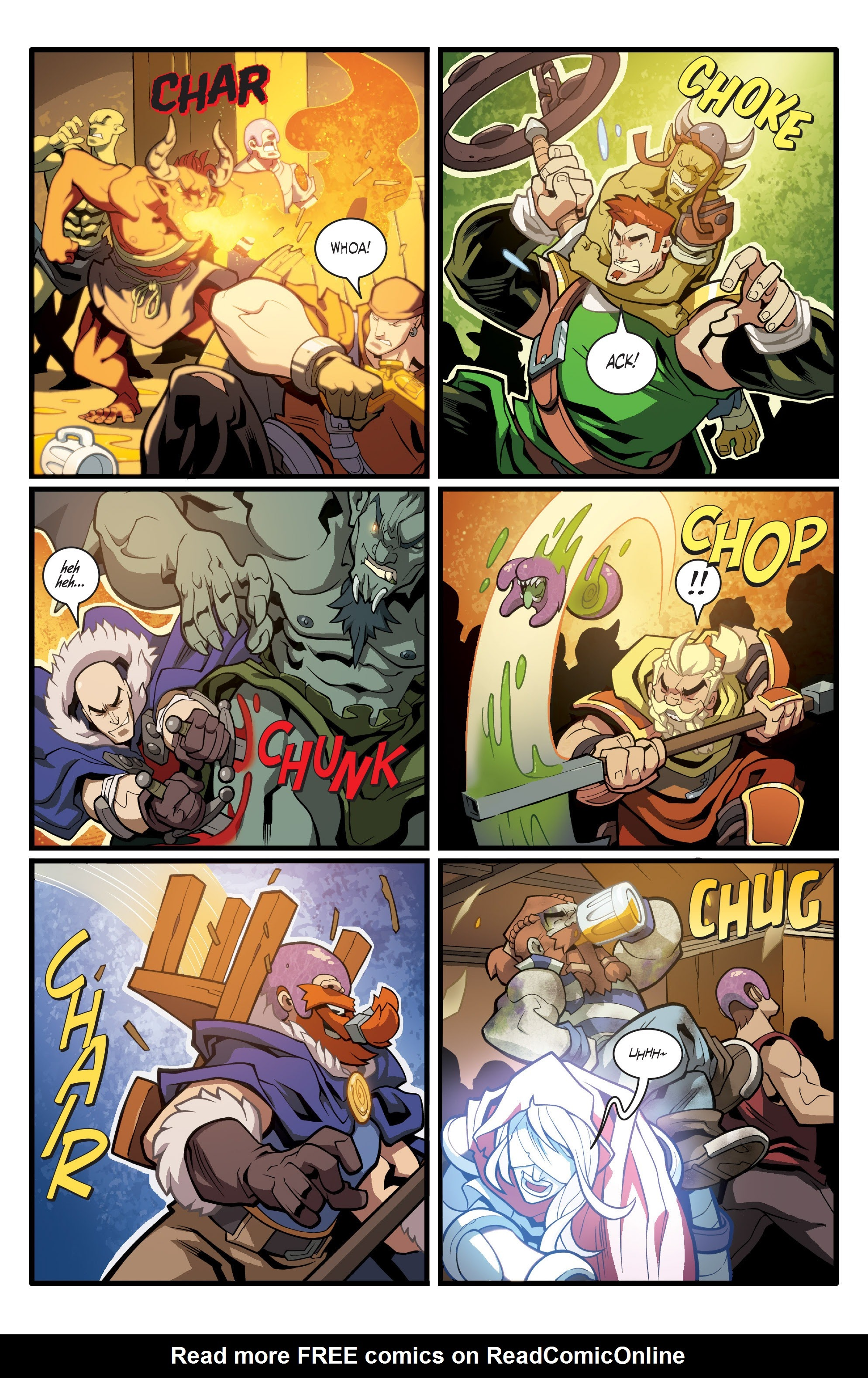 Read online Skullkickers comic -  Issue #33 - 5