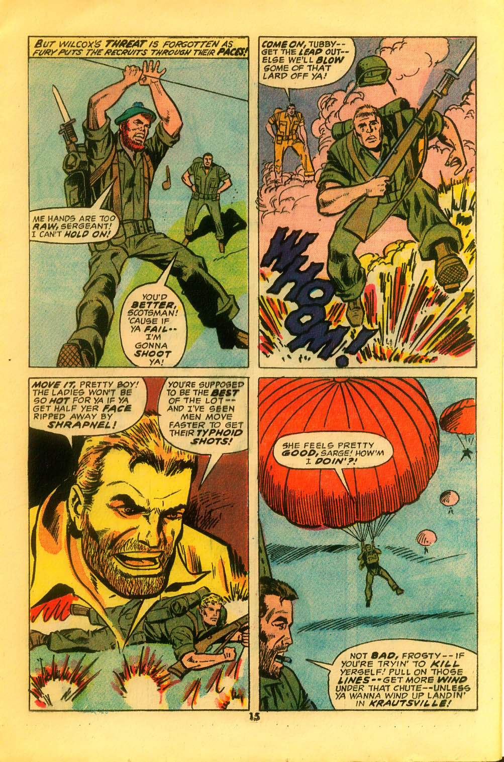 Read online Sgt. Fury comic -  Issue #116 - 17