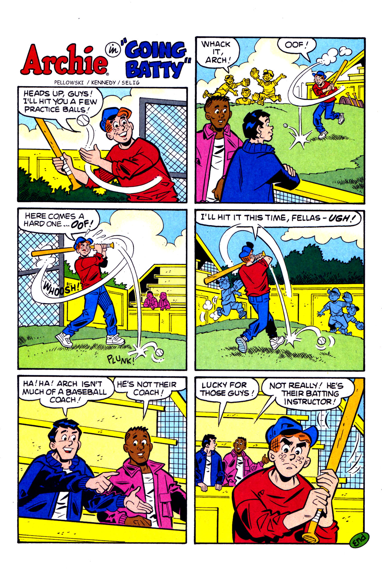 Read online Archie (1960) comic -  Issue #578 - 19