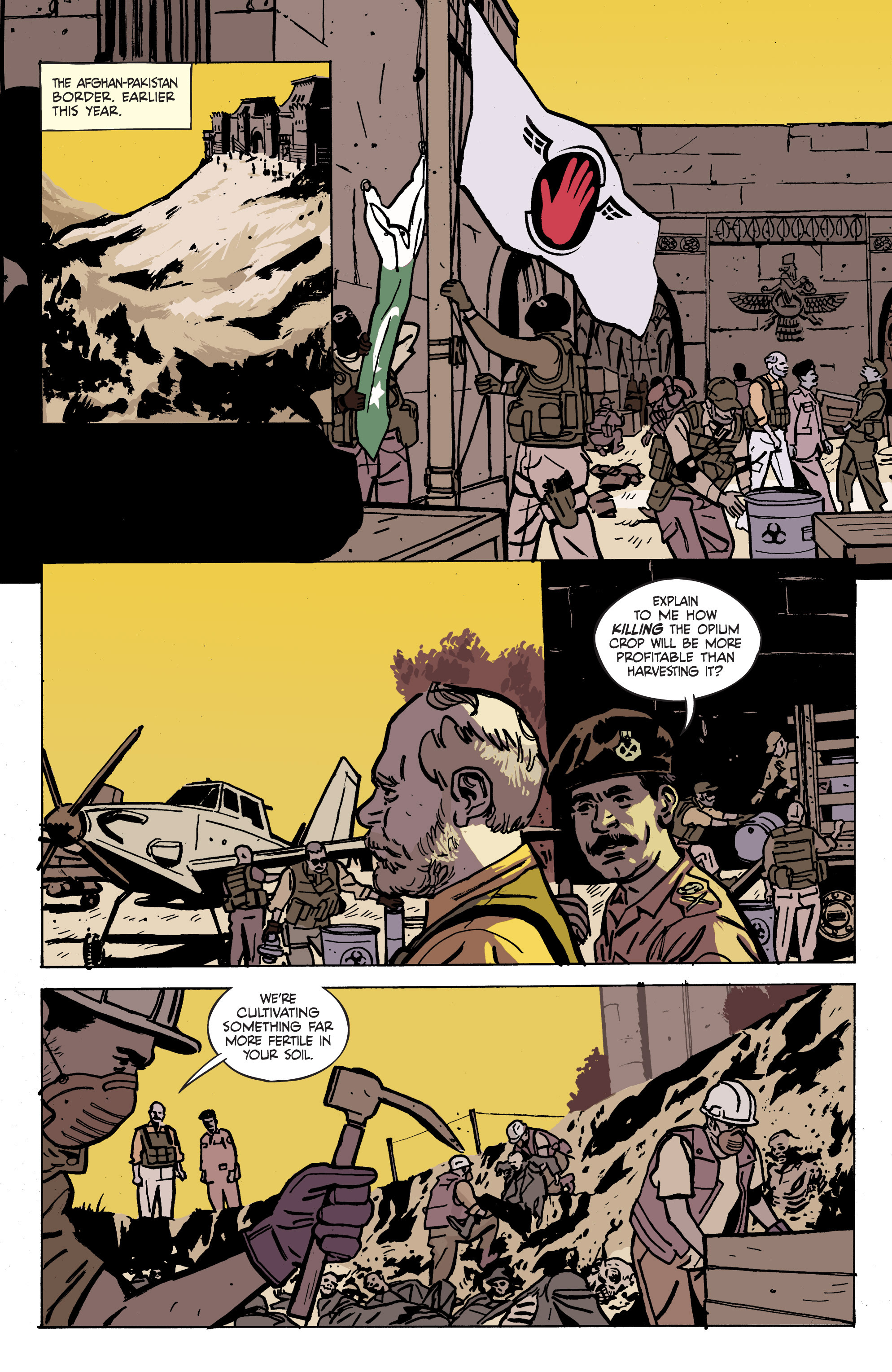 Read online Graveyard of Empires comic -  Issue # TPB - 97