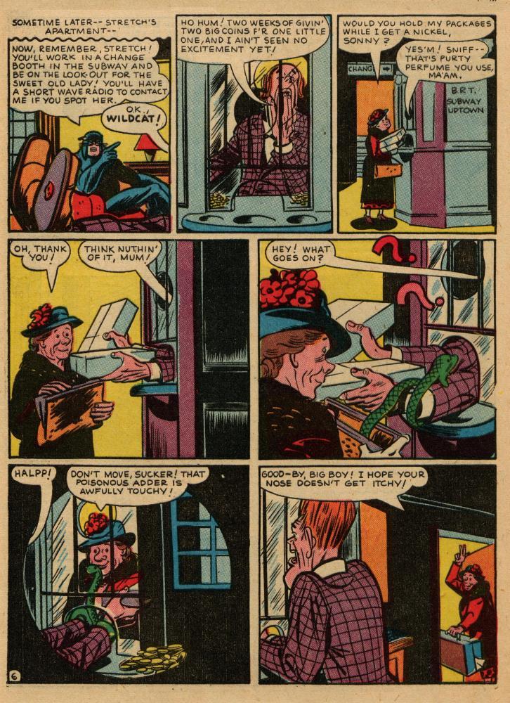 Read online Sensation (Mystery) Comics comic -  Issue #36 - 46
