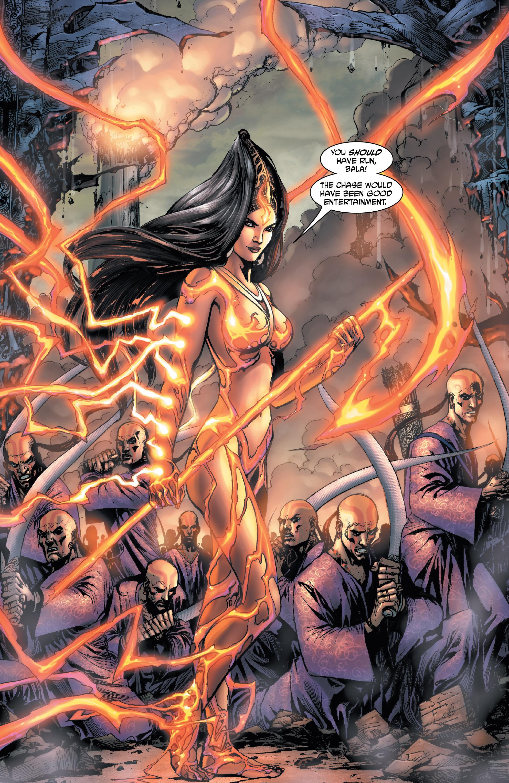 Read online Shekhar Kapur's Devi: Rebirth comic -  Issue #1 - 8