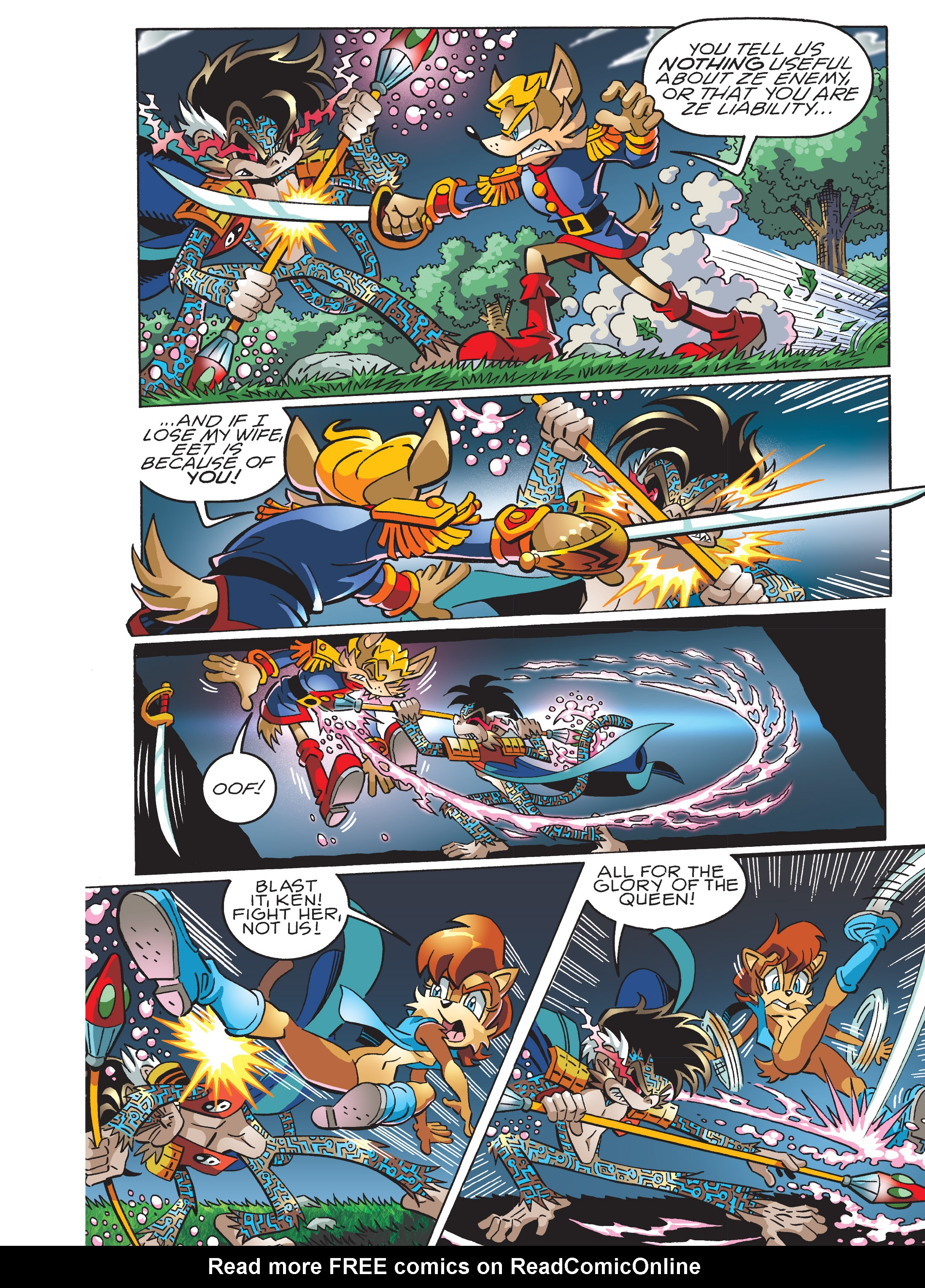 Read online Sonic Super Digest comic -  Issue #7 - 32