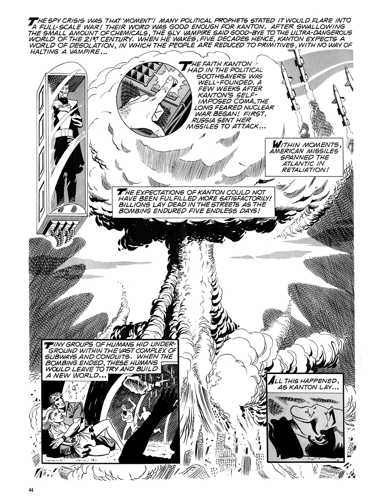 Read online Eerie Archives comic -  Issue # TPB 5 - 45