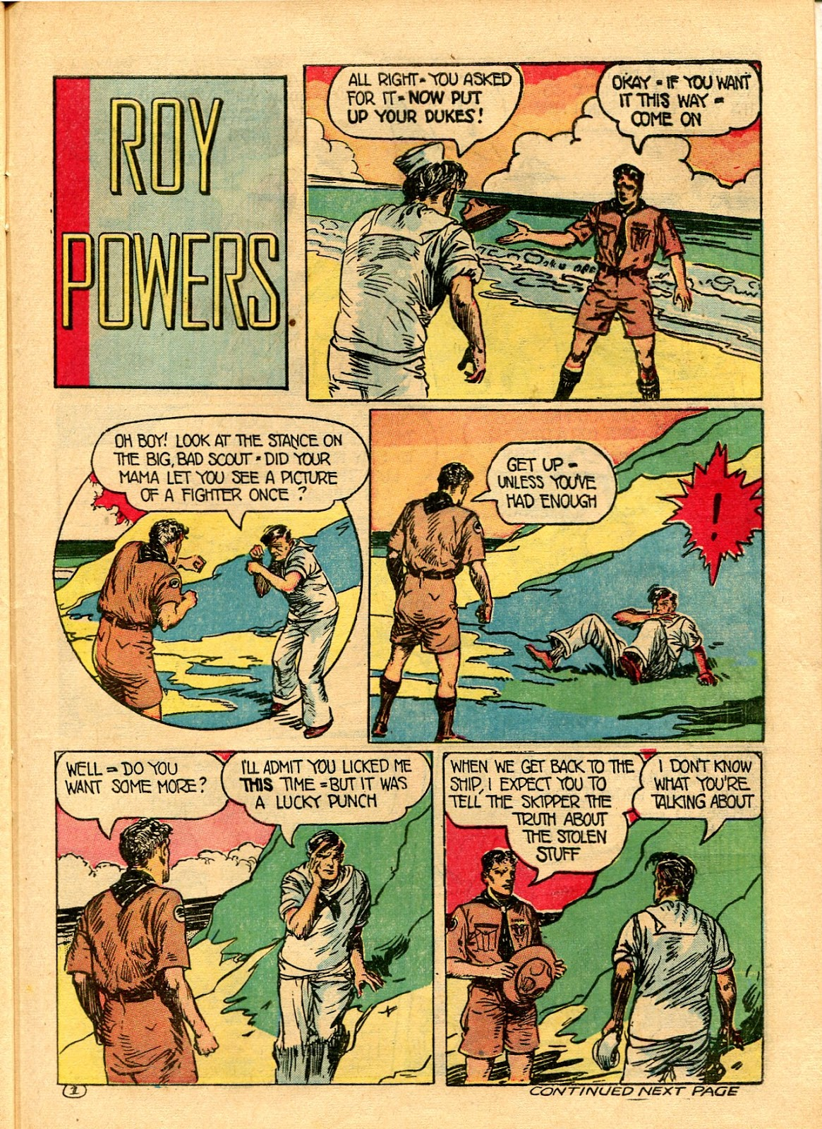 Read online Famous Funnies comic -  Issue #101 - 51