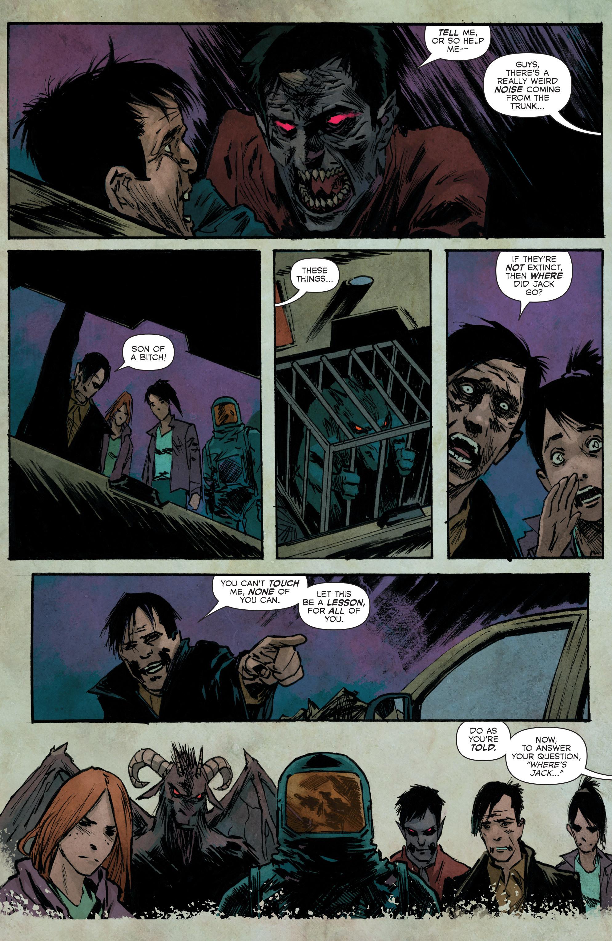 Read online Hoax Hunters (2012) comic -  Issue # TPB 3 - 98