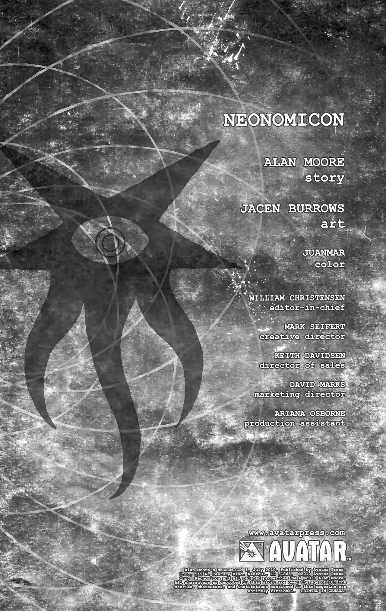 Read online Alan Moore's Neonomicon comic -  Issue #1 - 10