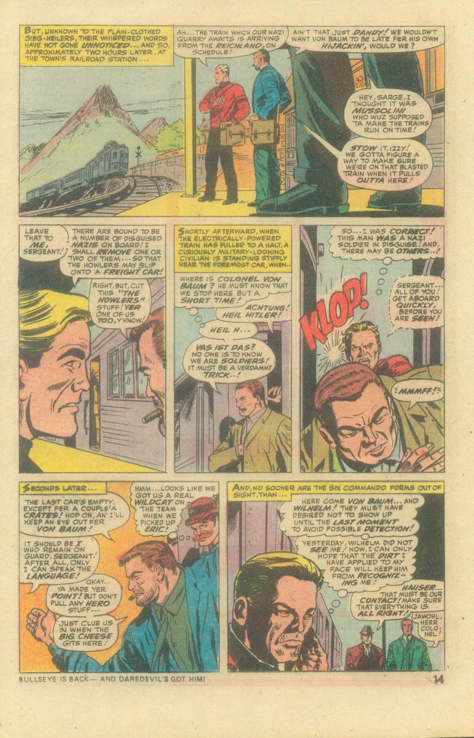 Read online Sgt. Fury comic -  Issue #138 - 16