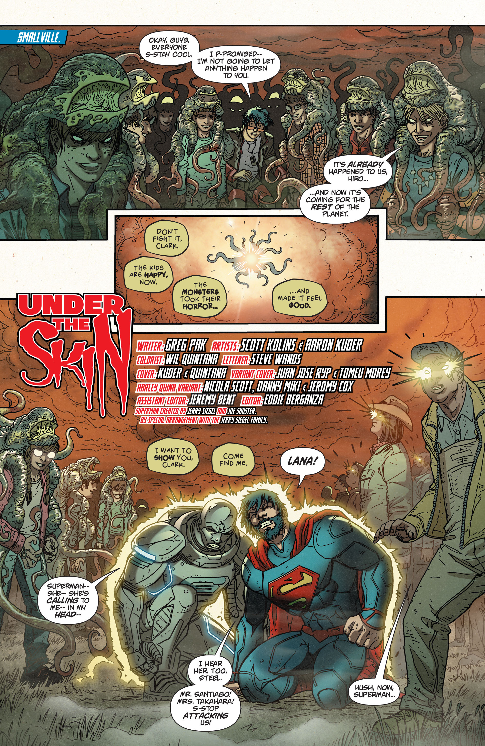 Read online Action Comics (2011) comic -  Issue #39 - 2