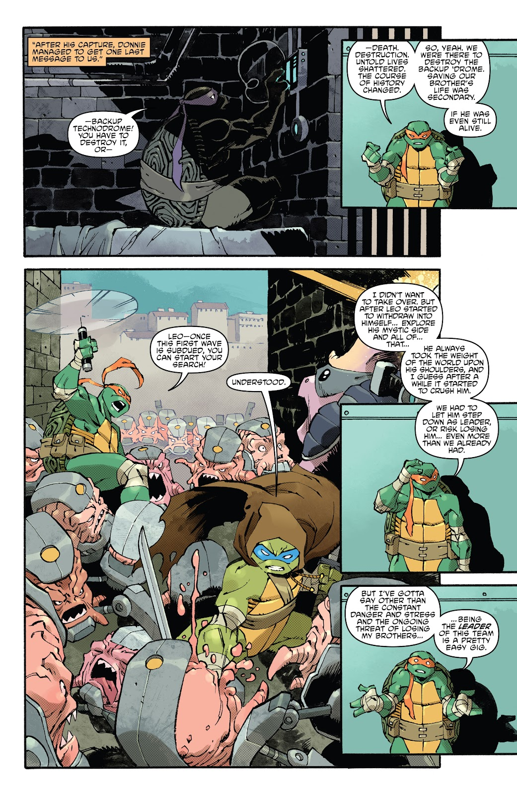 Read online Teenage Mutant Ninja Turtles (2011) comic -  Issue #102 - 31