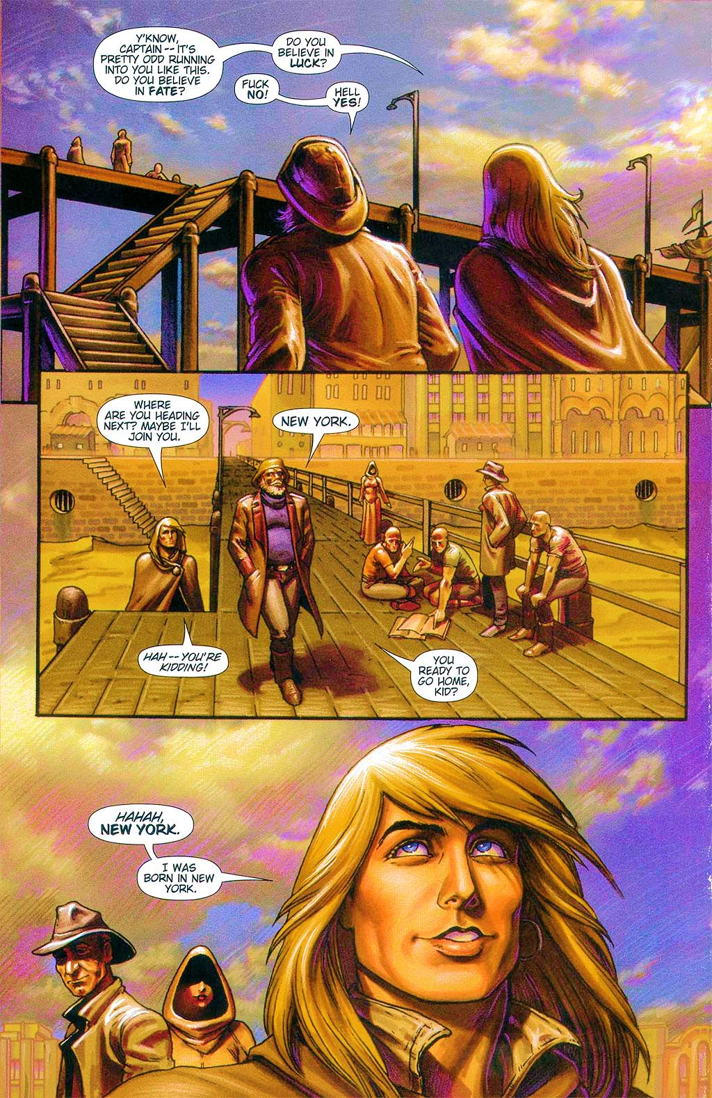Read online Dawn: Three Tiers comic -  Issue #6 - 24