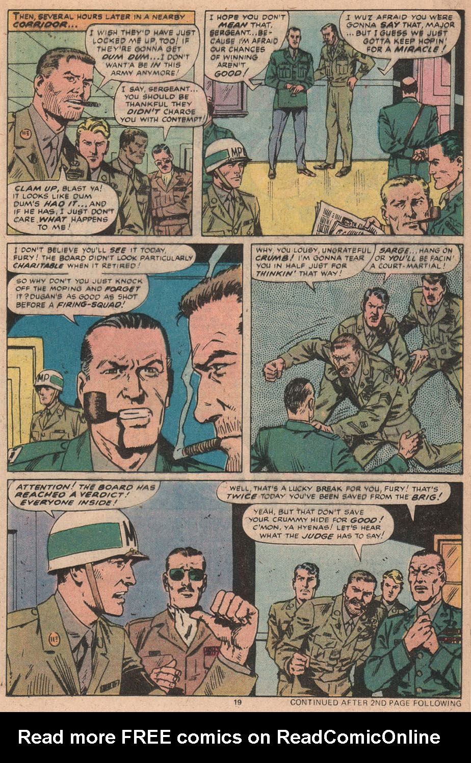 Read online Sgt. Fury comic -  Issue #156 - 20