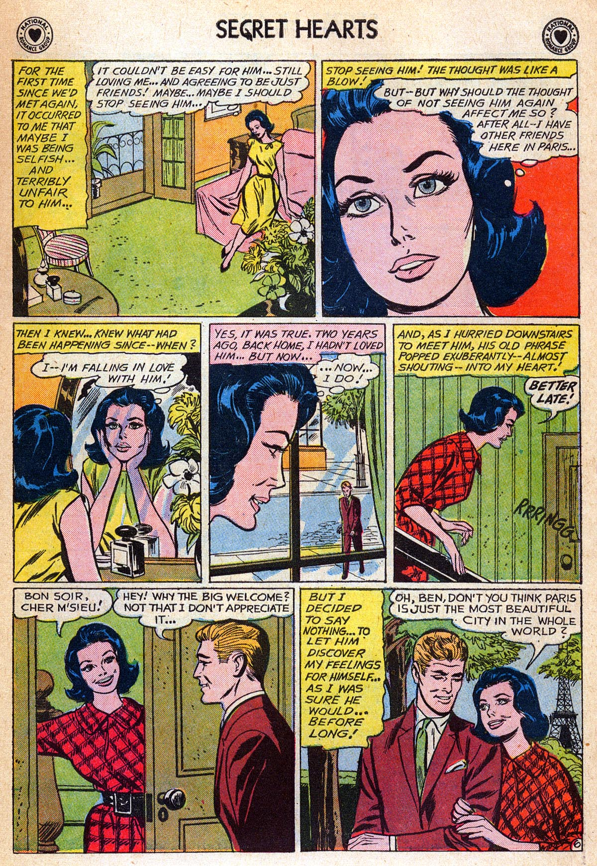 Read online Secret Hearts comic -  Issue #76 - 15