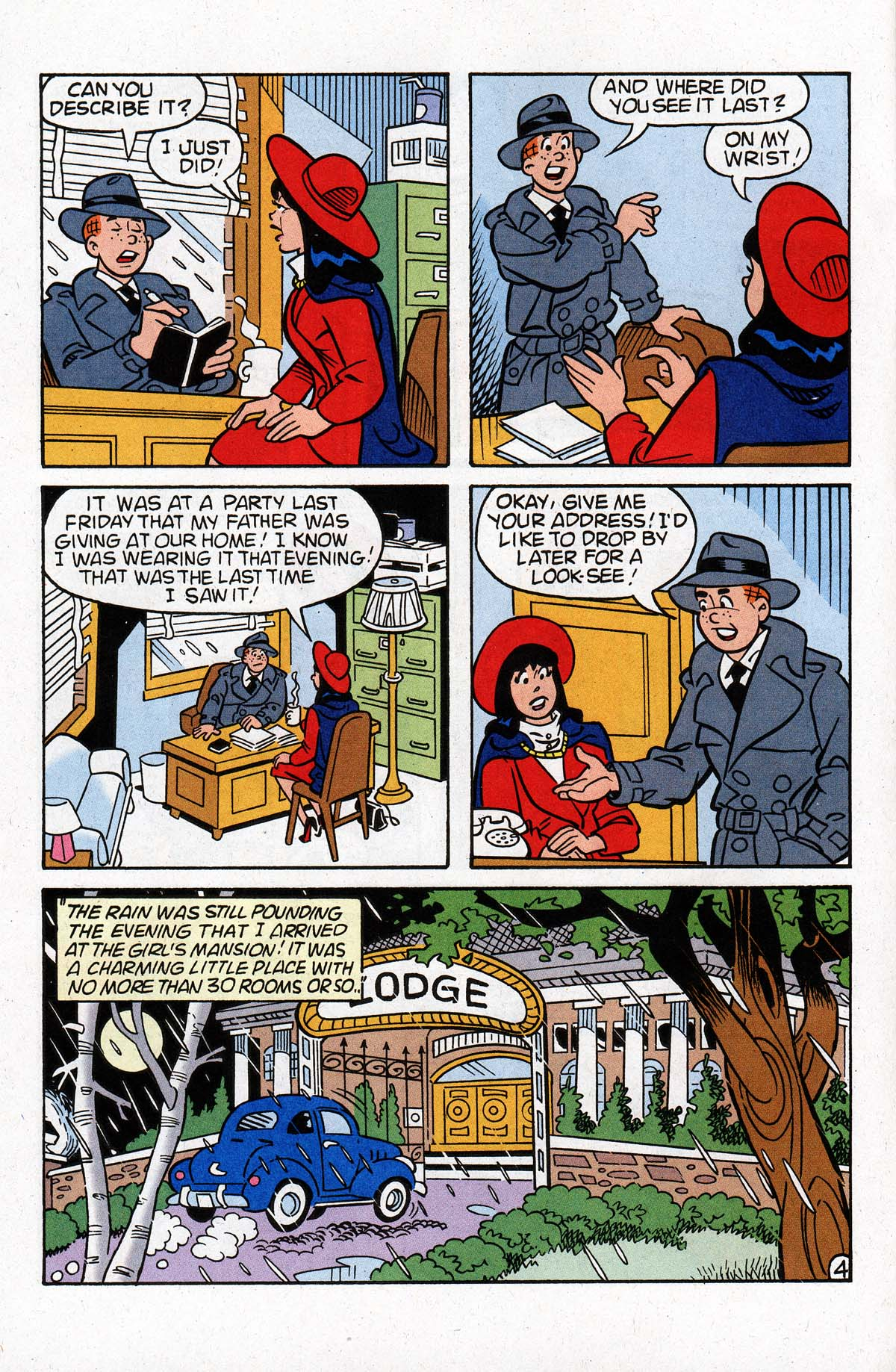 Read online Archie (1960) comic -  Issue #533 - 5