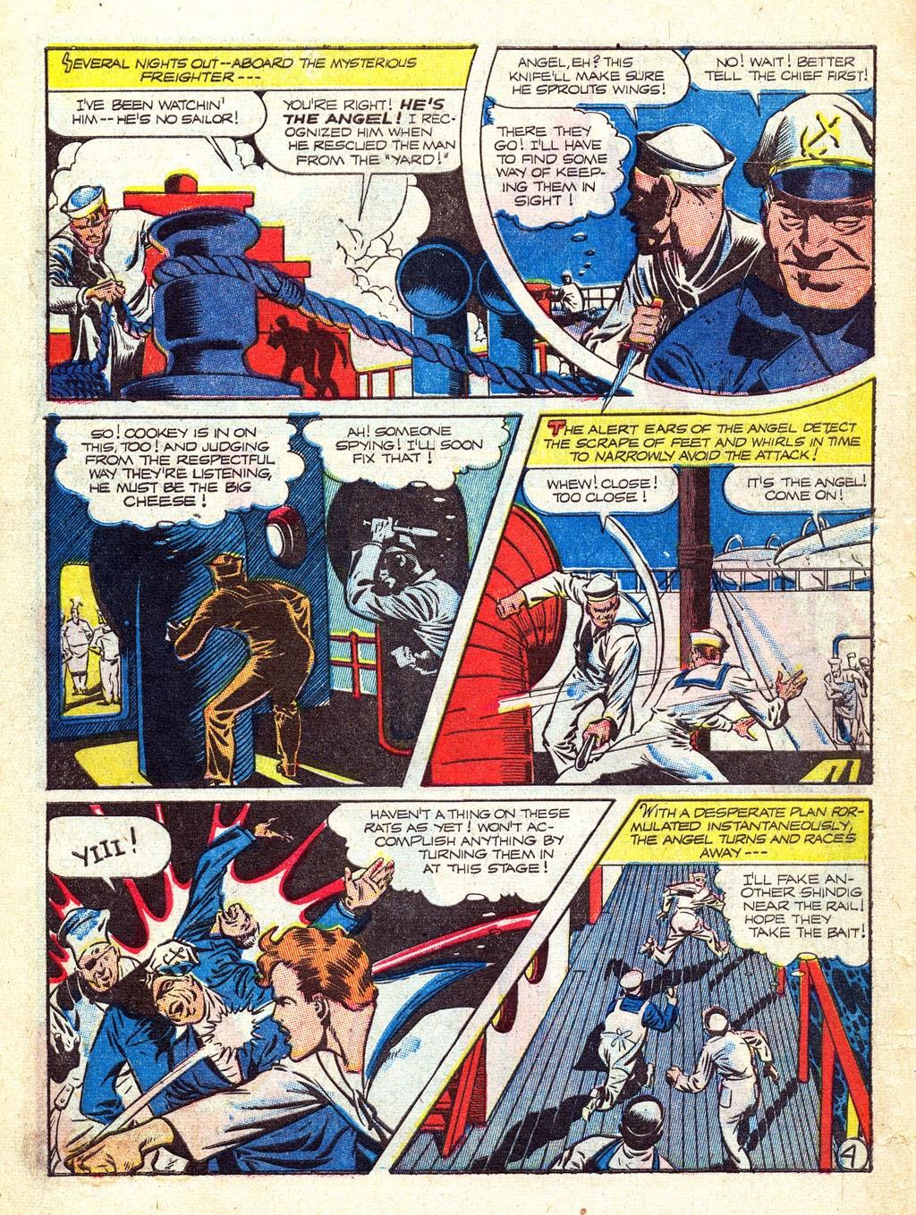 Read online Mystic Comics (1944) comic -  Issue #3 - 6