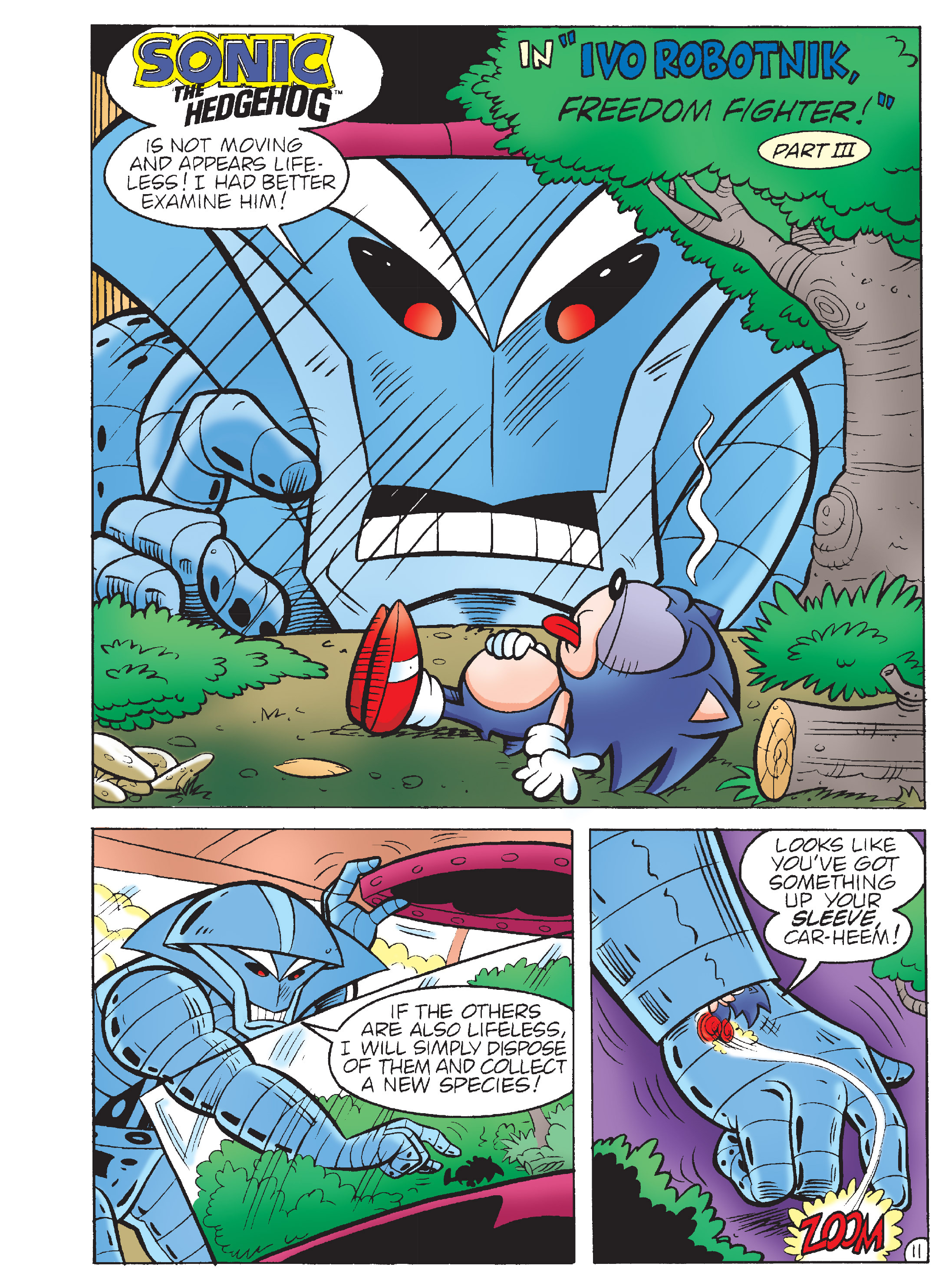 Read online Sonic Super Digest comic -  Issue #7 - 109