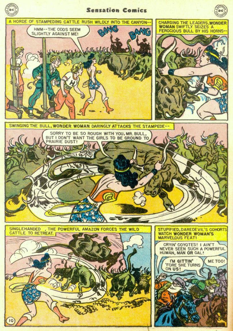 Read online Sensation (Mystery) Comics comic -  Issue #67 - 12