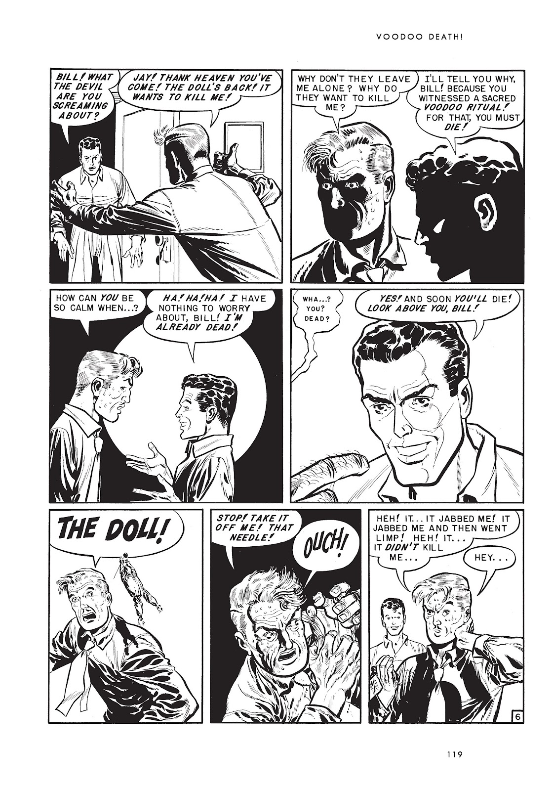 Read online Voodoo Vengeance and Other Stories comic -  Issue # TPB (Part 2) - 37